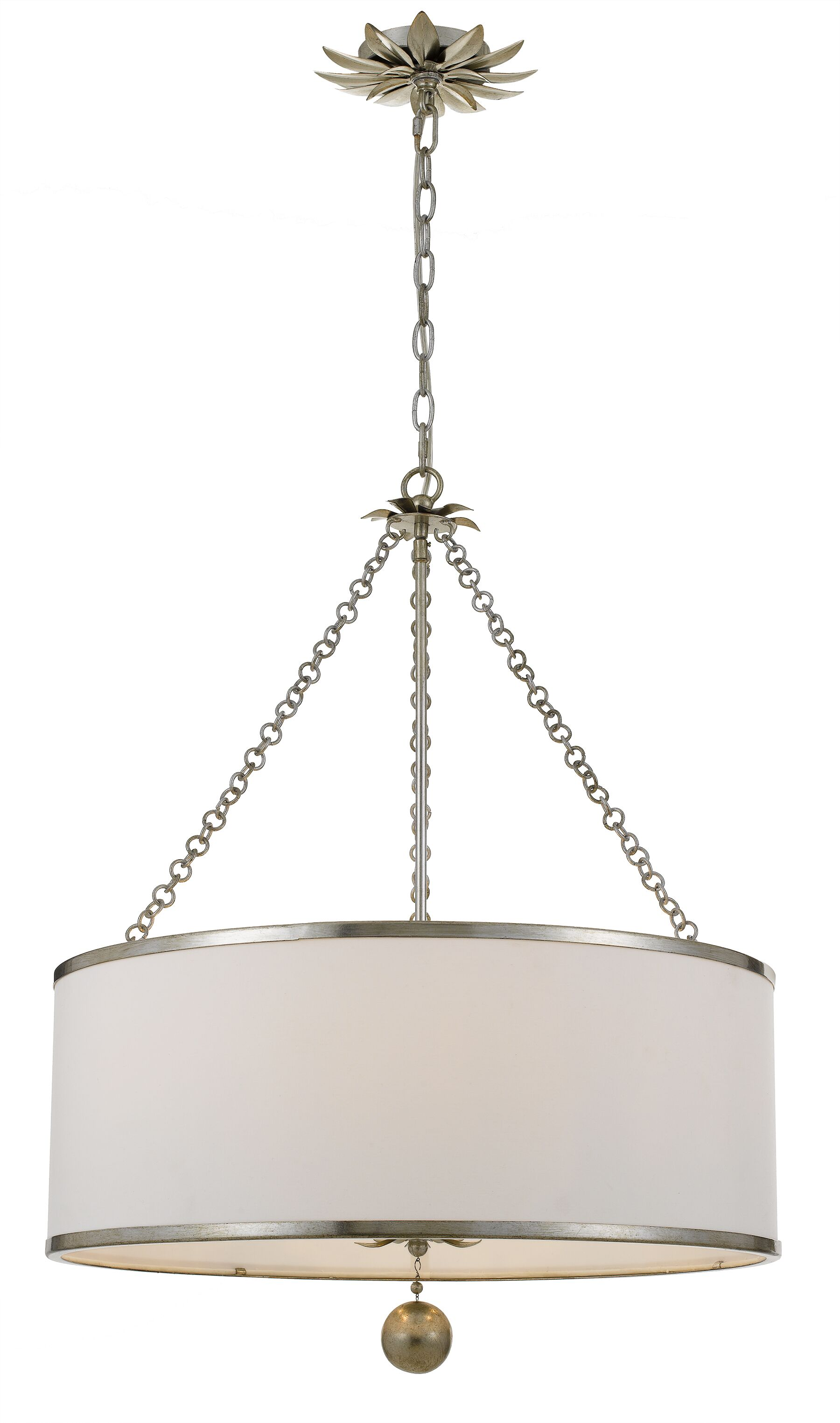 Wickman 6-Light Pendant Finish: Gold