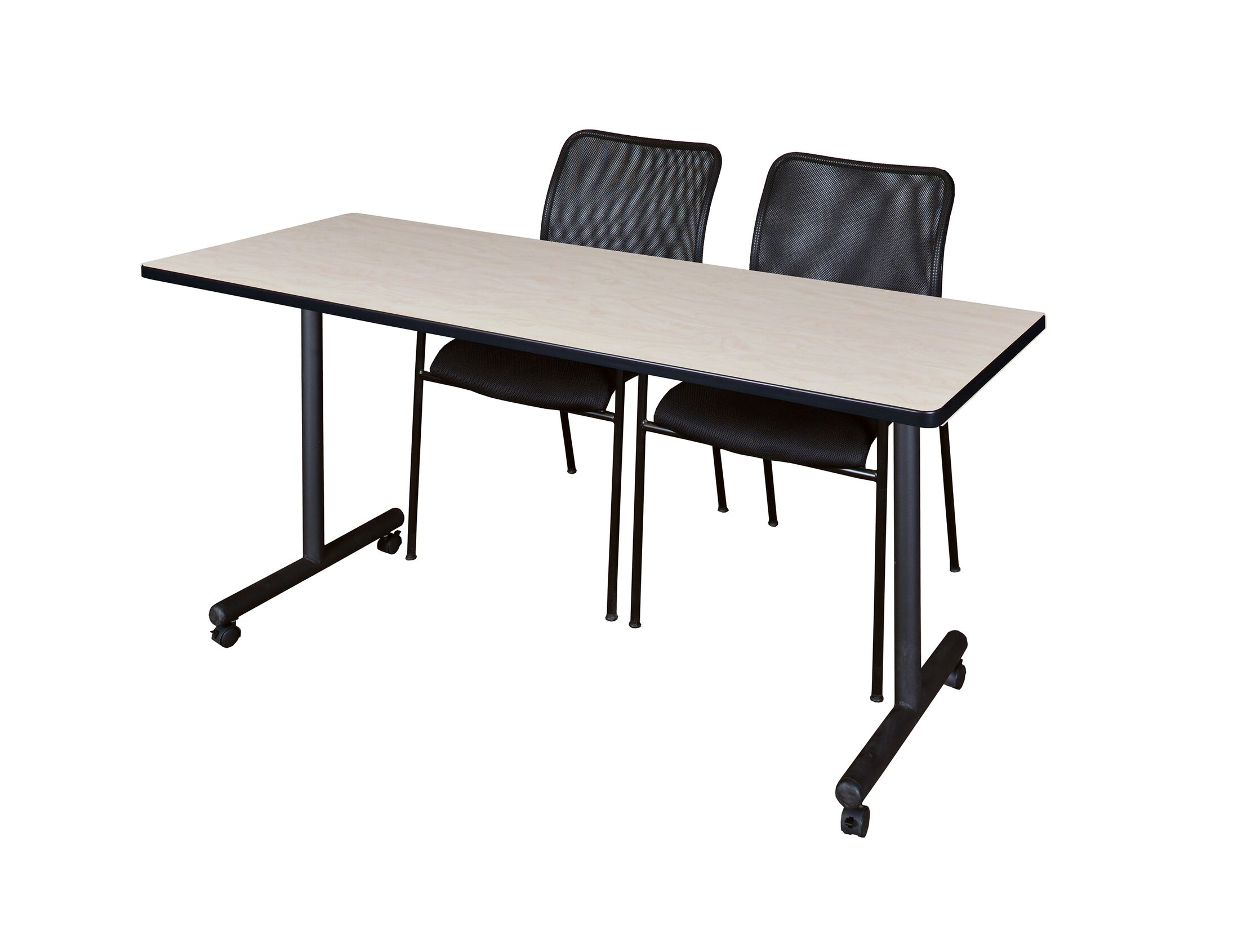 Marin Mobile Training Table Tabletop Finish: Maple, Size: 29