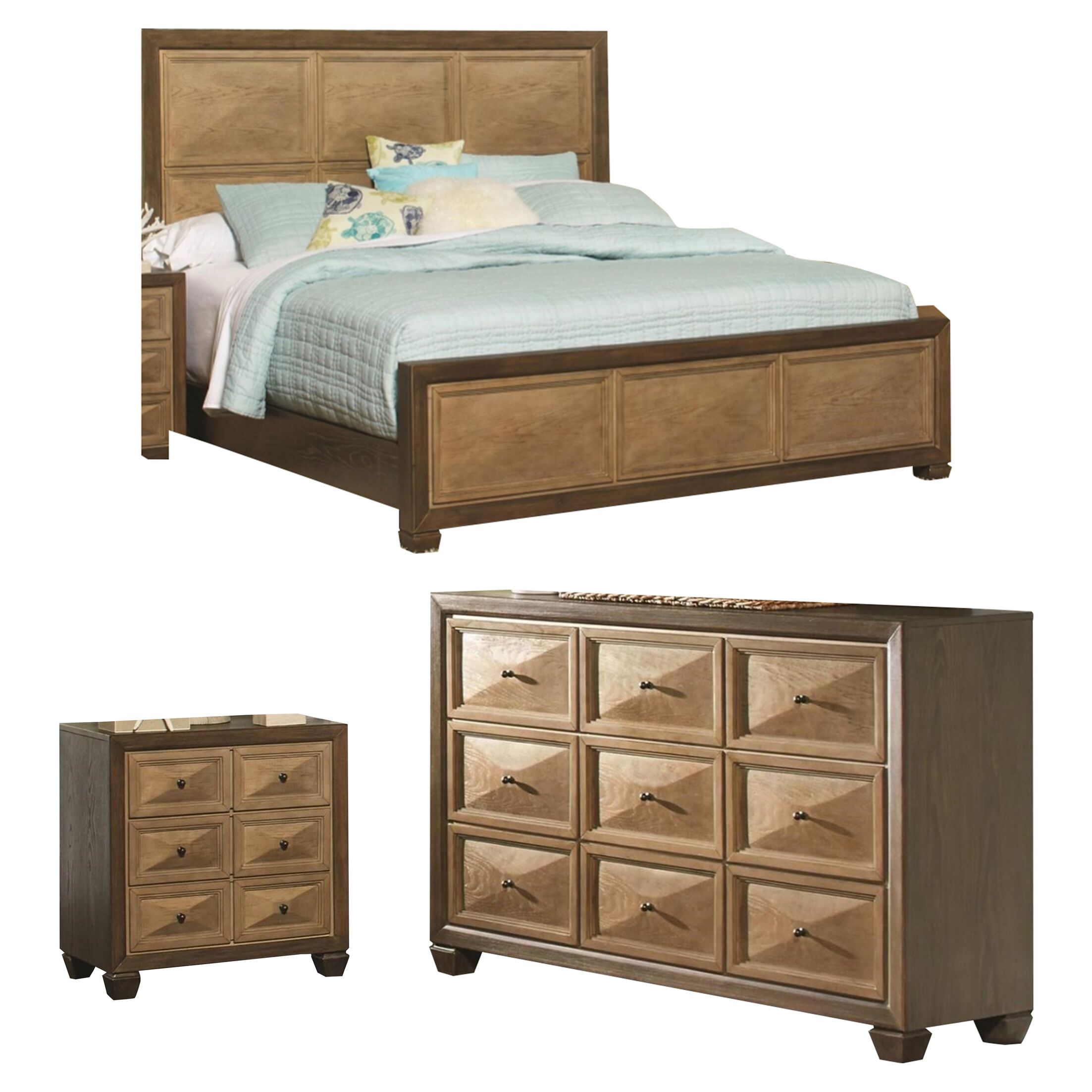Arlott Panel Configurable Bedroom Set
