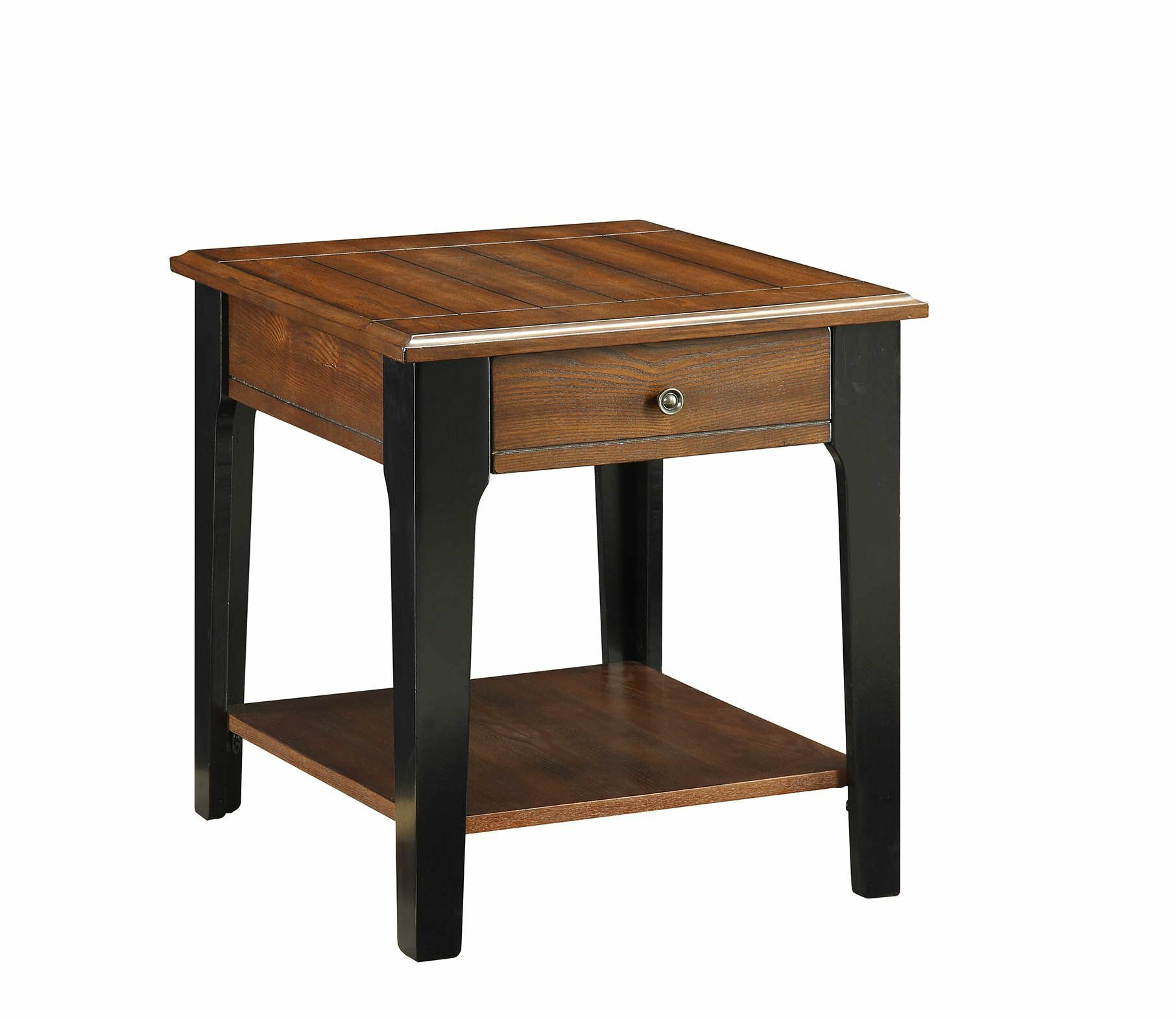 Howington End Table with Storage