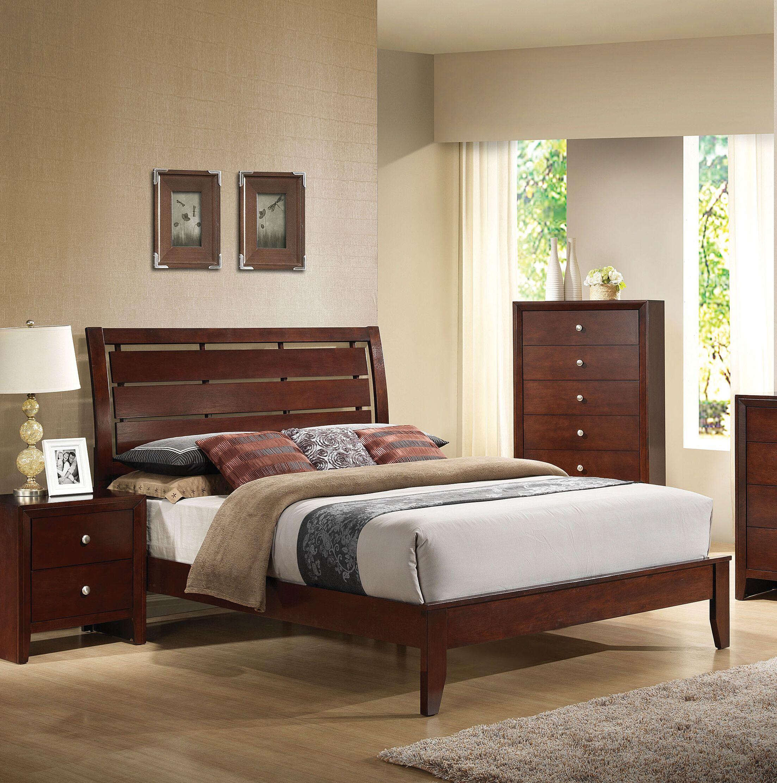 Edgartown Panel Bed Size: King