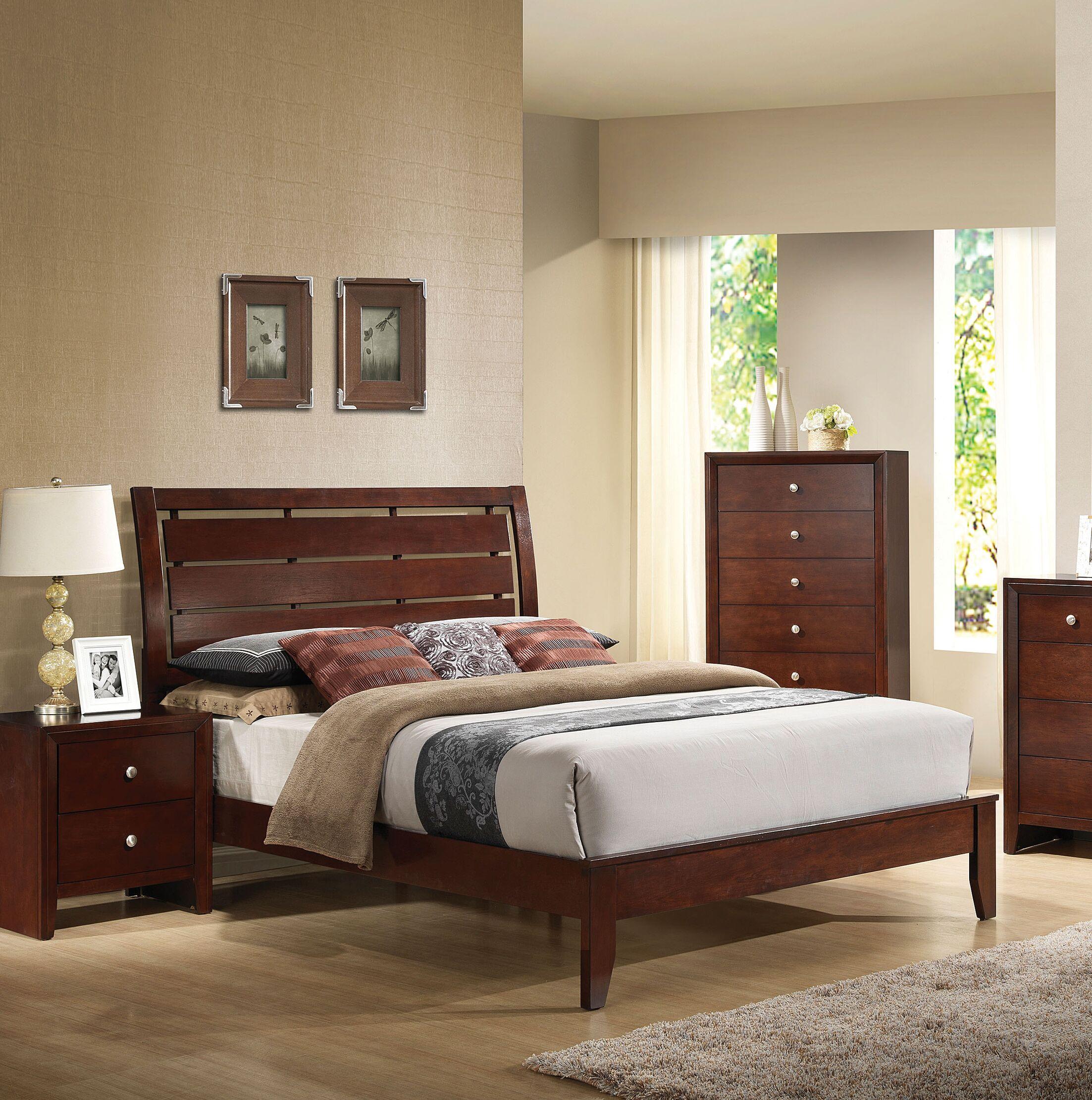 Edgartown Panel Bed Size: Queen