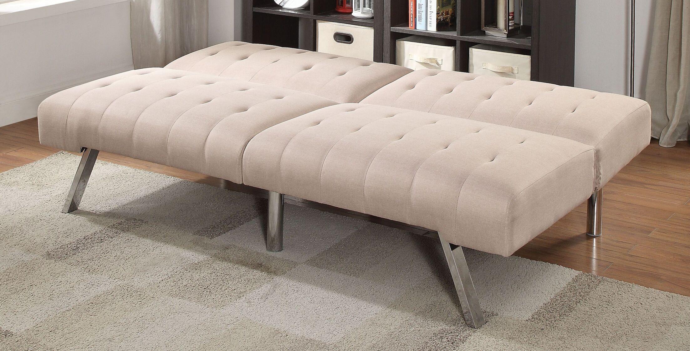 Beaulieu Convertible Sofa Upholstery: Beige