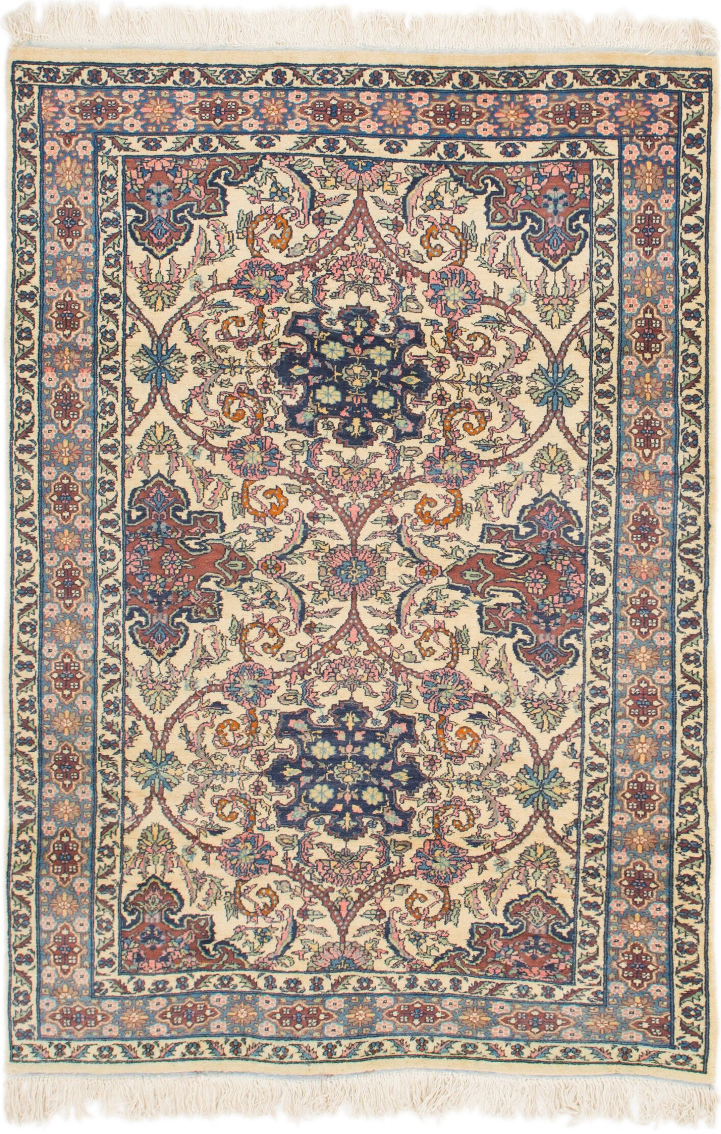 One-of-a-Kind Palomo Hand-Knotted 4'2