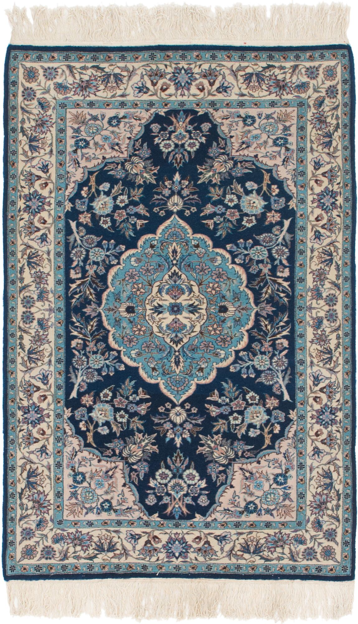 One-of-a-Kind Palomo Hand-Knotted 3'2