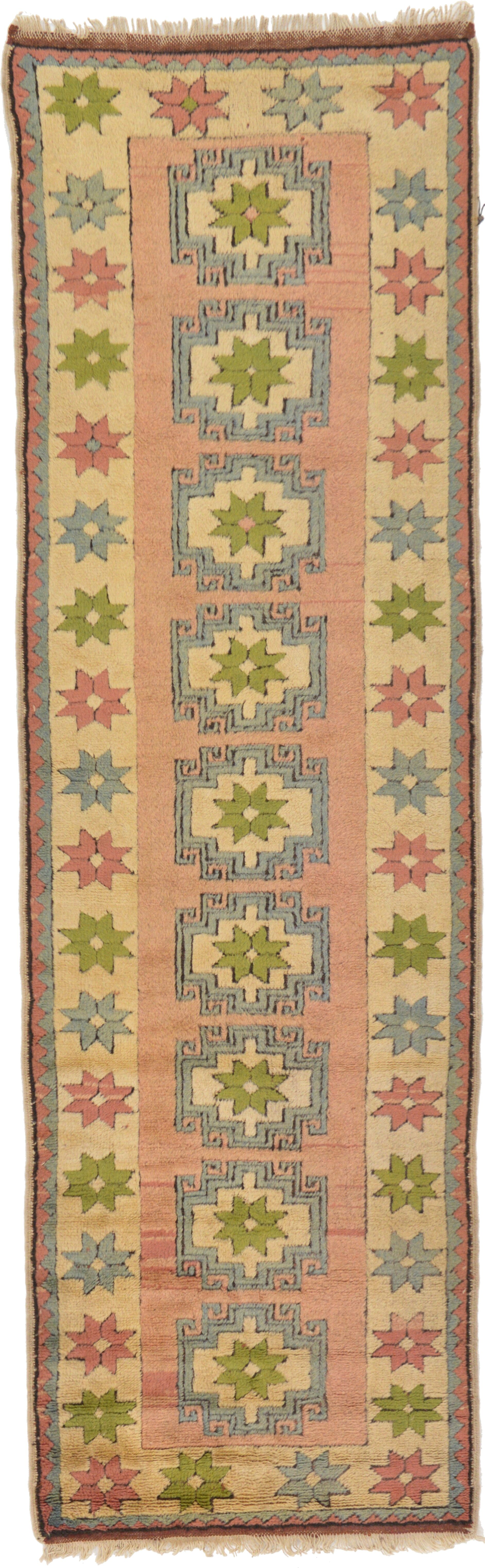 One-of-a-Kind Glenaire Hand-Knotted Runner 3'1