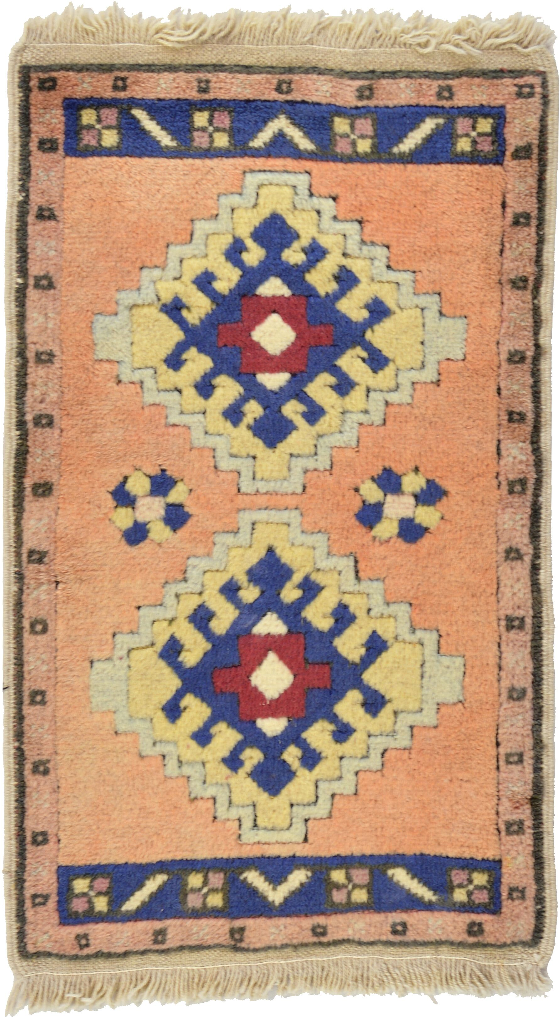 One-of-a-Kind Glenaire Hand-Knotted 1'11