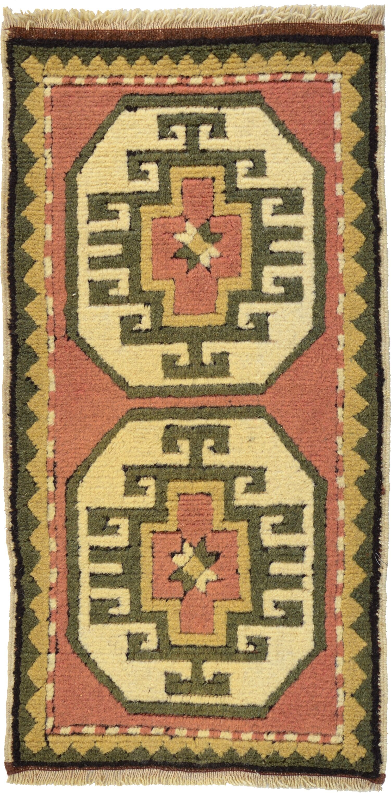 One-of-a-Kind Glenaire Hand-Knotted Runner 1'7