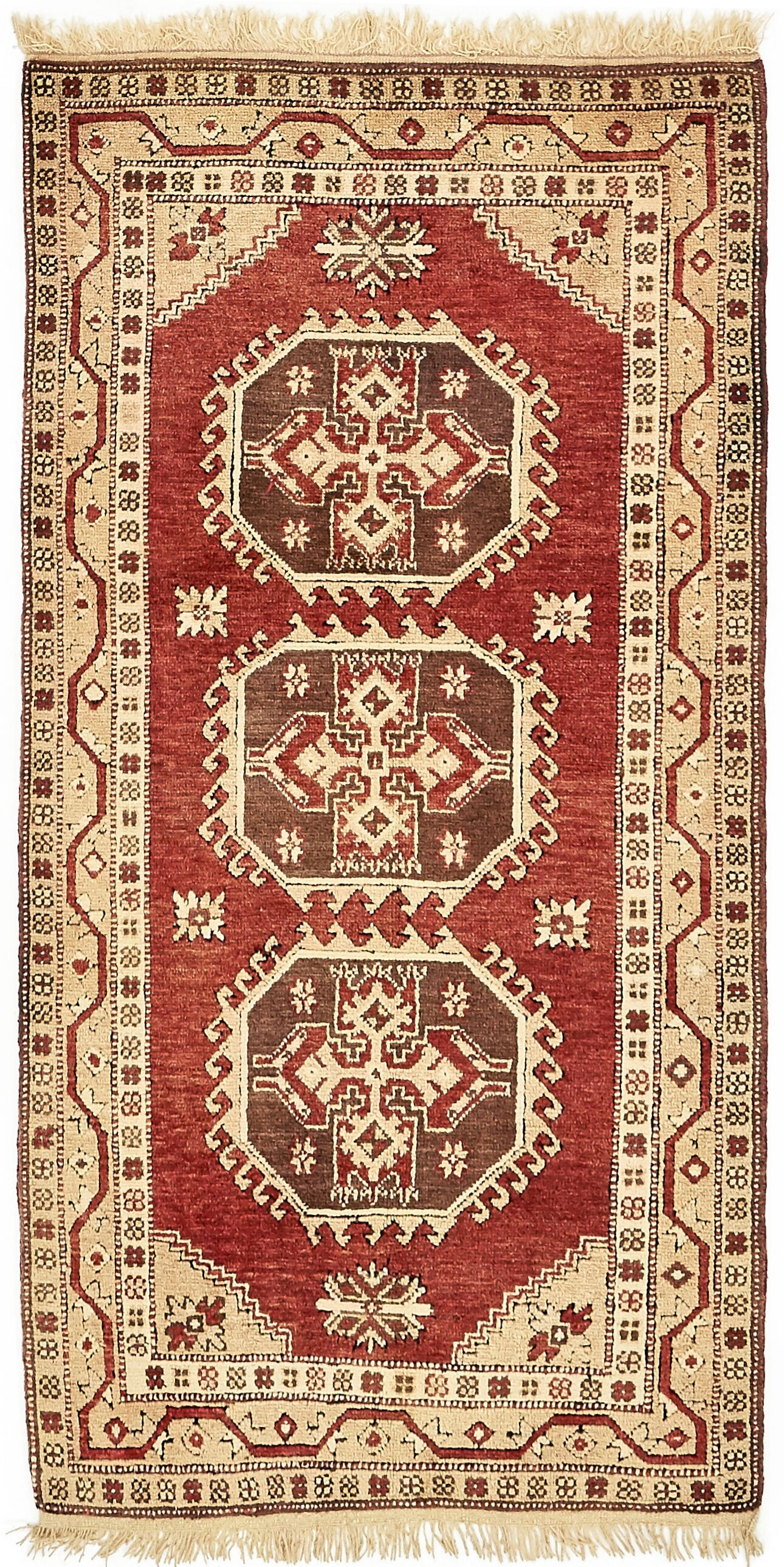One-of-a-Kind Glenaire Hand-Knotted Runner 3'3