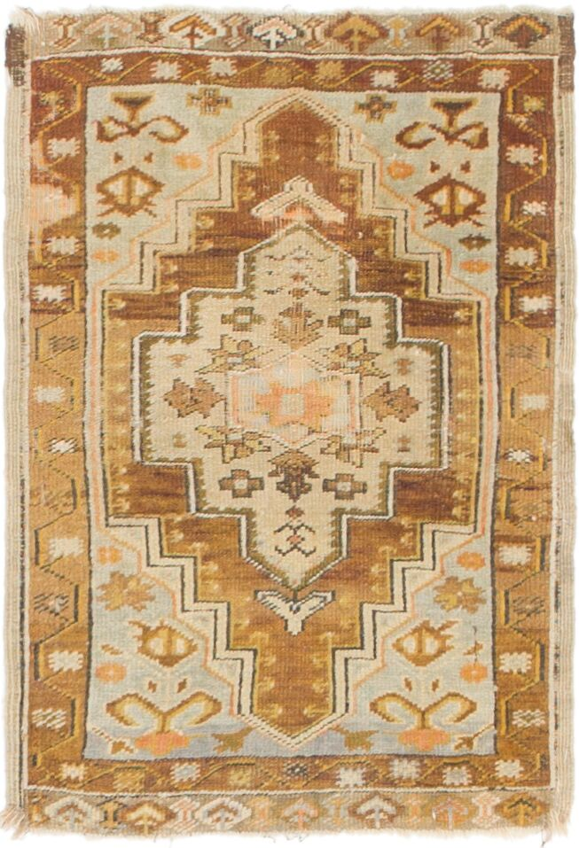 One-of-a-Kind Glenaire Hand-Knotted 1'9