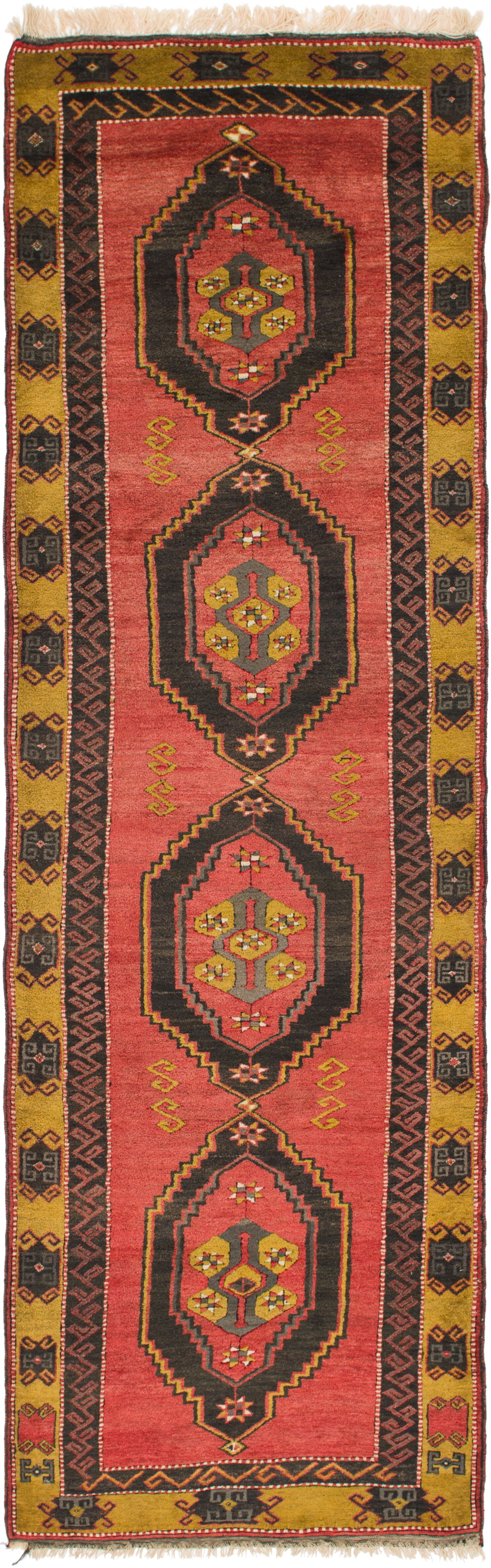 One-of-a-Kind Glenaire Hand-Knotted Runner 4' x 13'9