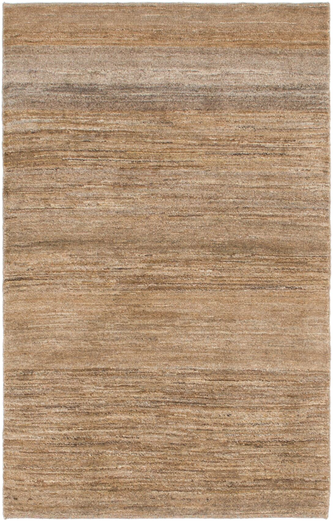 One-of-a-Kind Didcot Hand-Knotted 3' x 5' Wool Light Brown Area Rug