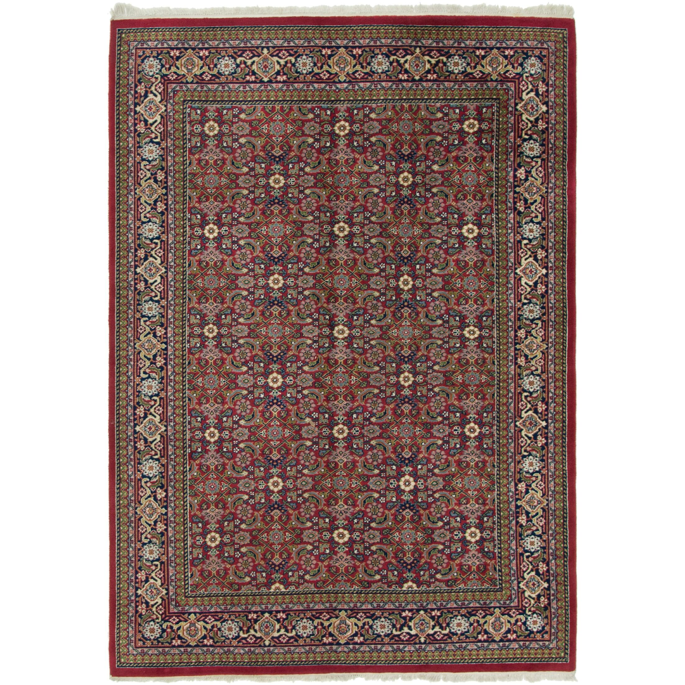 One-of-a-Kind Dunwich Hand-Knotted Wool Red Area Rug