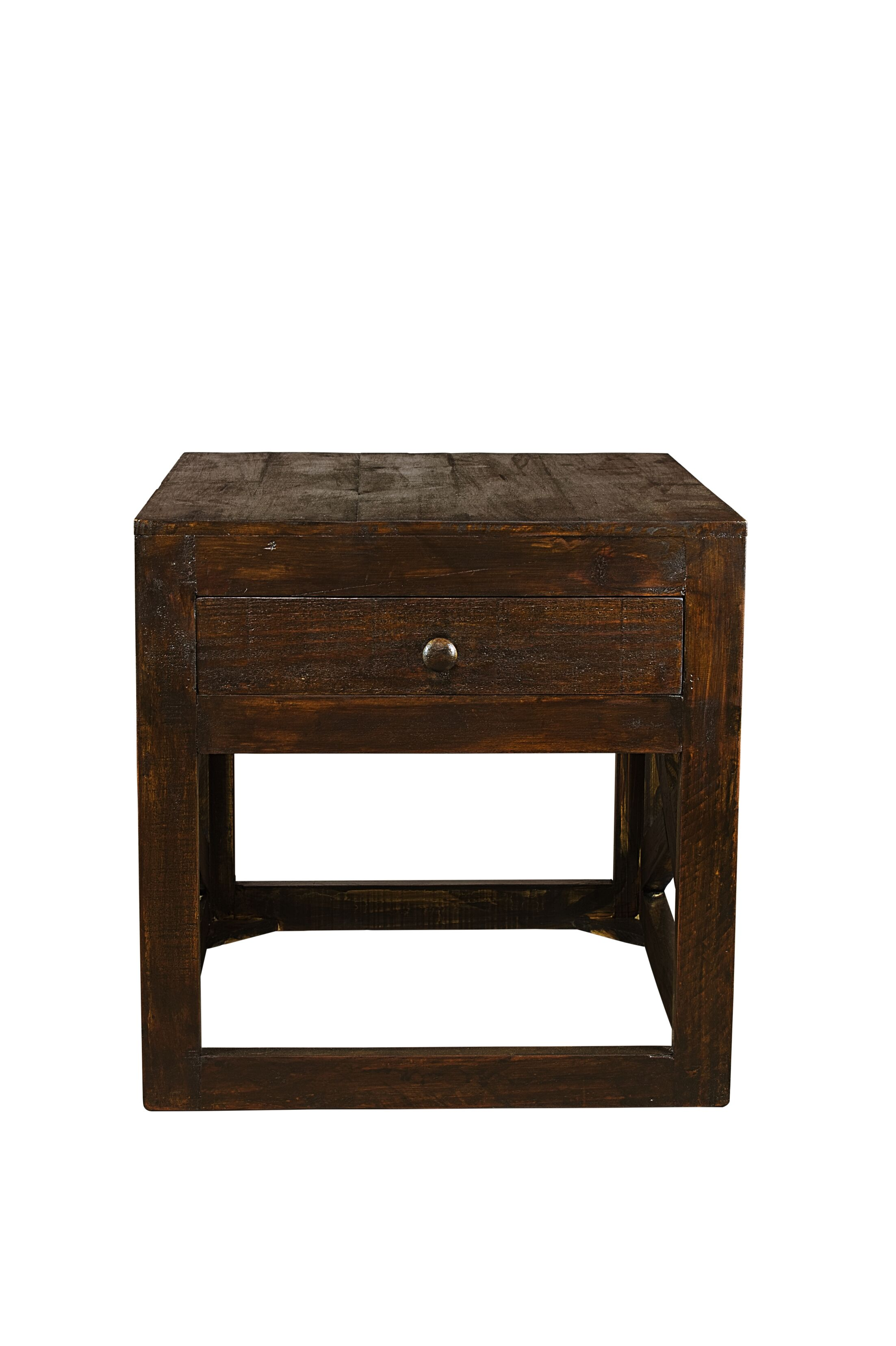 Porter End Table with Storage Color: Cowboy