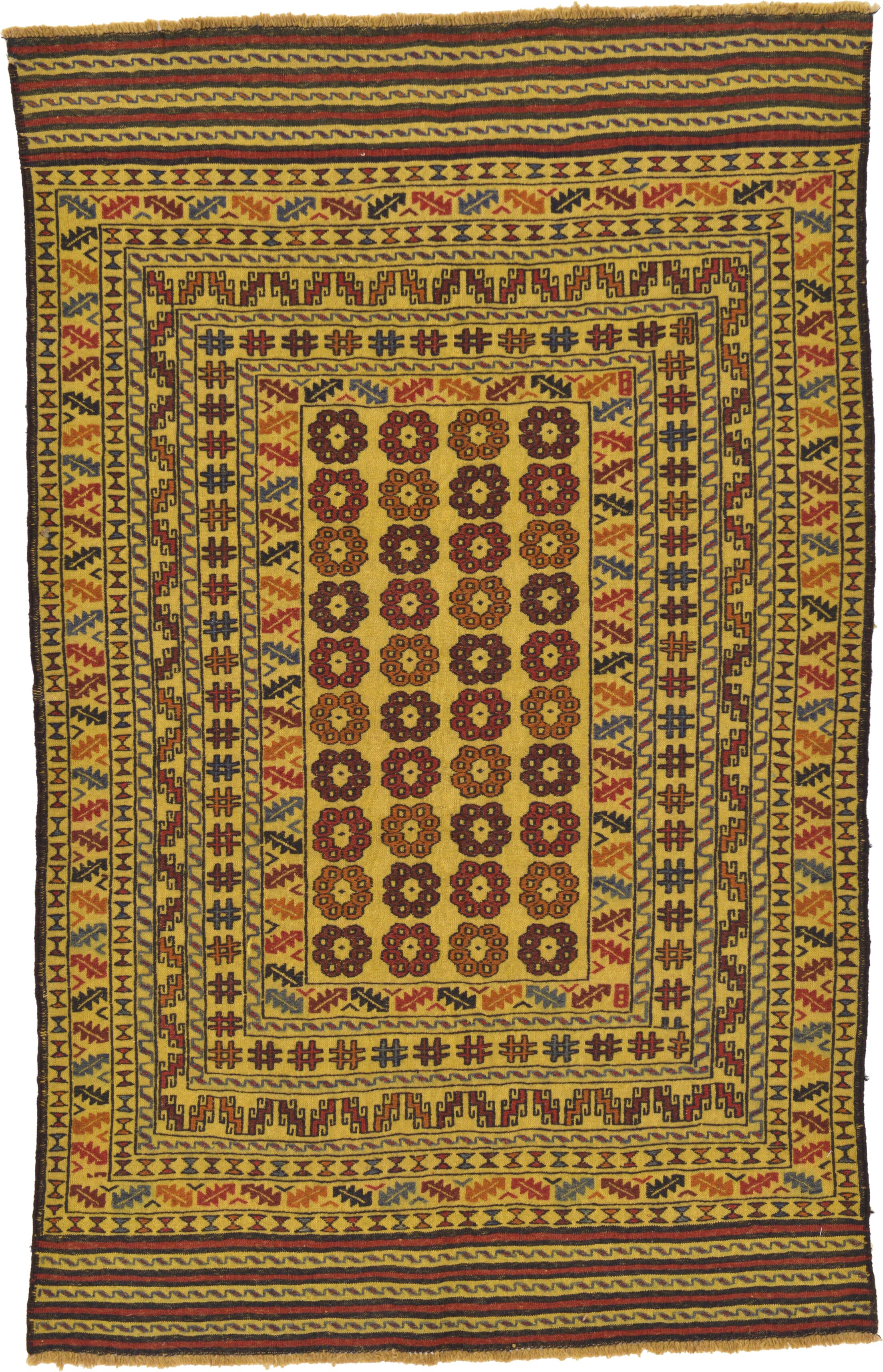 One-of-a-Kind Warminster Hand-Knotted Wool Beige Area Rug