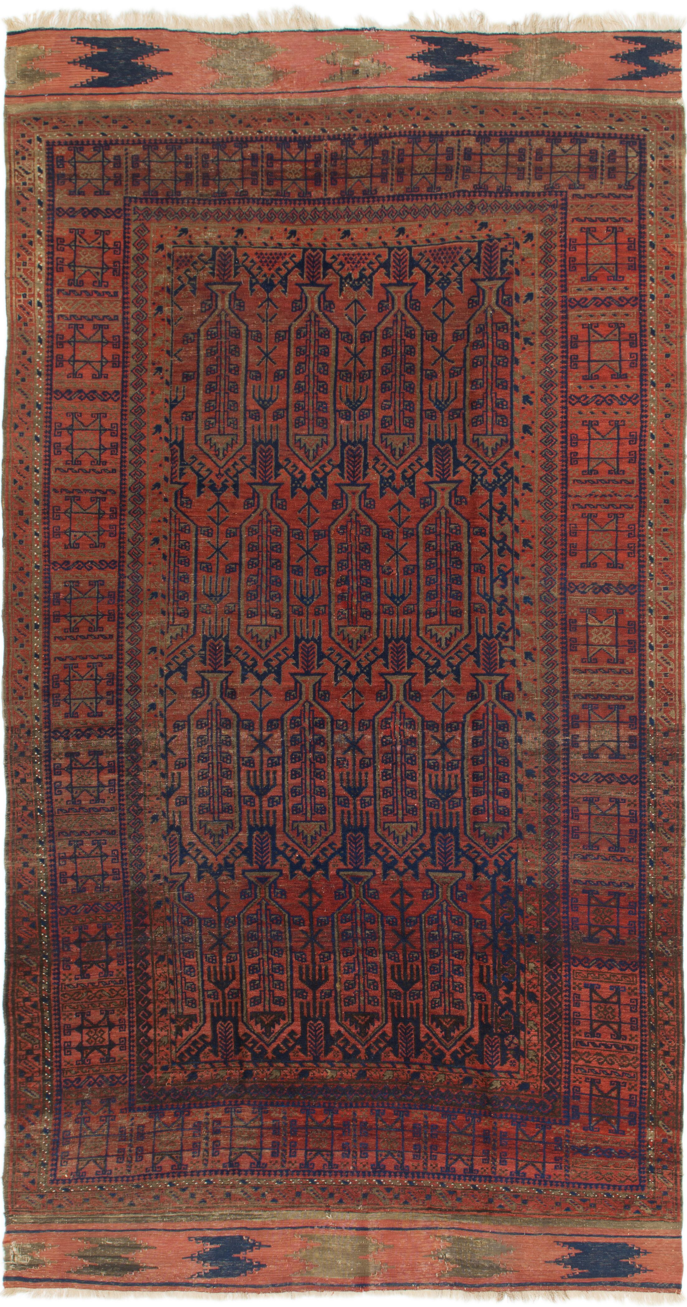 One-of-a-Kind Warminster Hand-Knotted Wool Red Area Rug