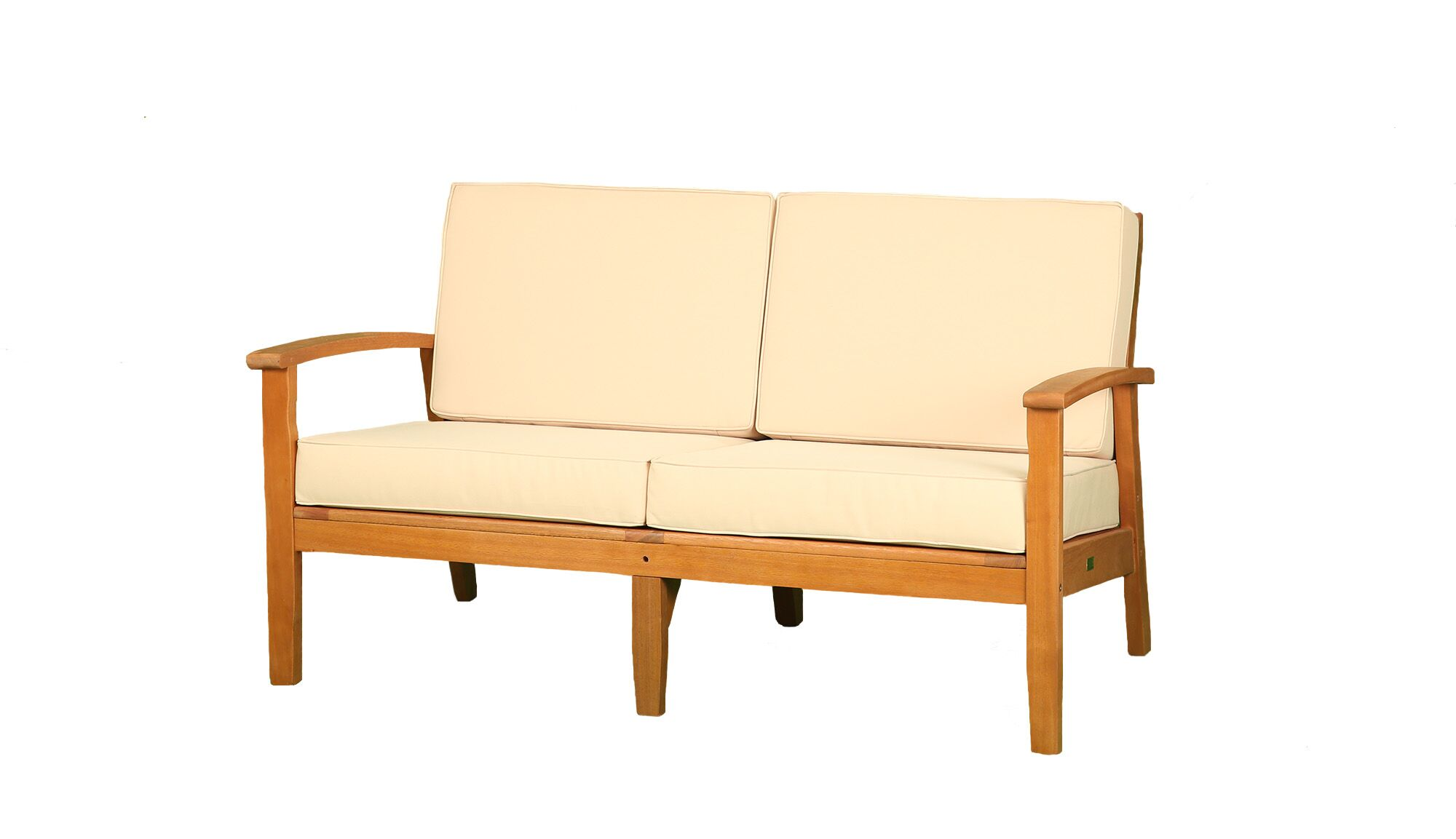 Dex Deep Seat Settee with Cushions