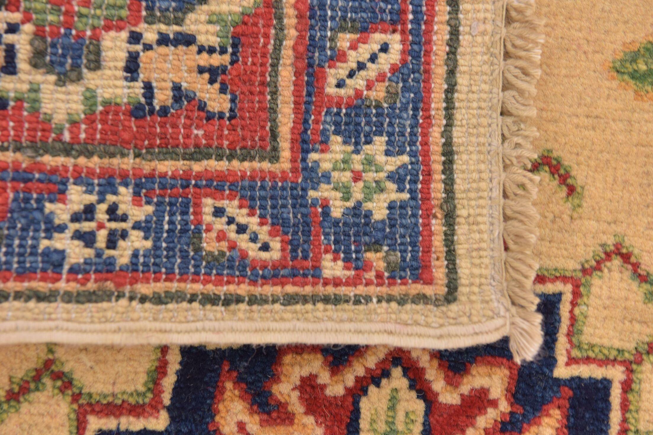 One-of-a-Kind Alayna Hand-Knotted Wool Ivory Area Rug