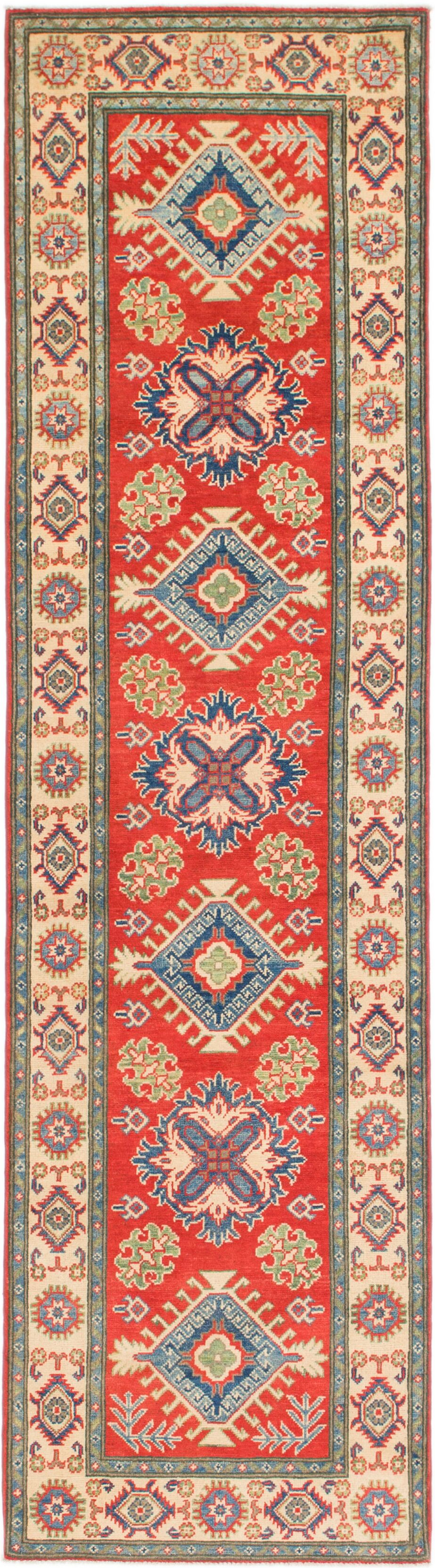 One-of-a-Kind Alayna Hand-Knotted Wool Red Area Rug