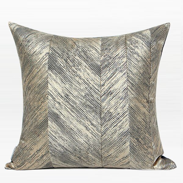 Galvan Thin Stripe Throw Pillow Fill Material: Polyester