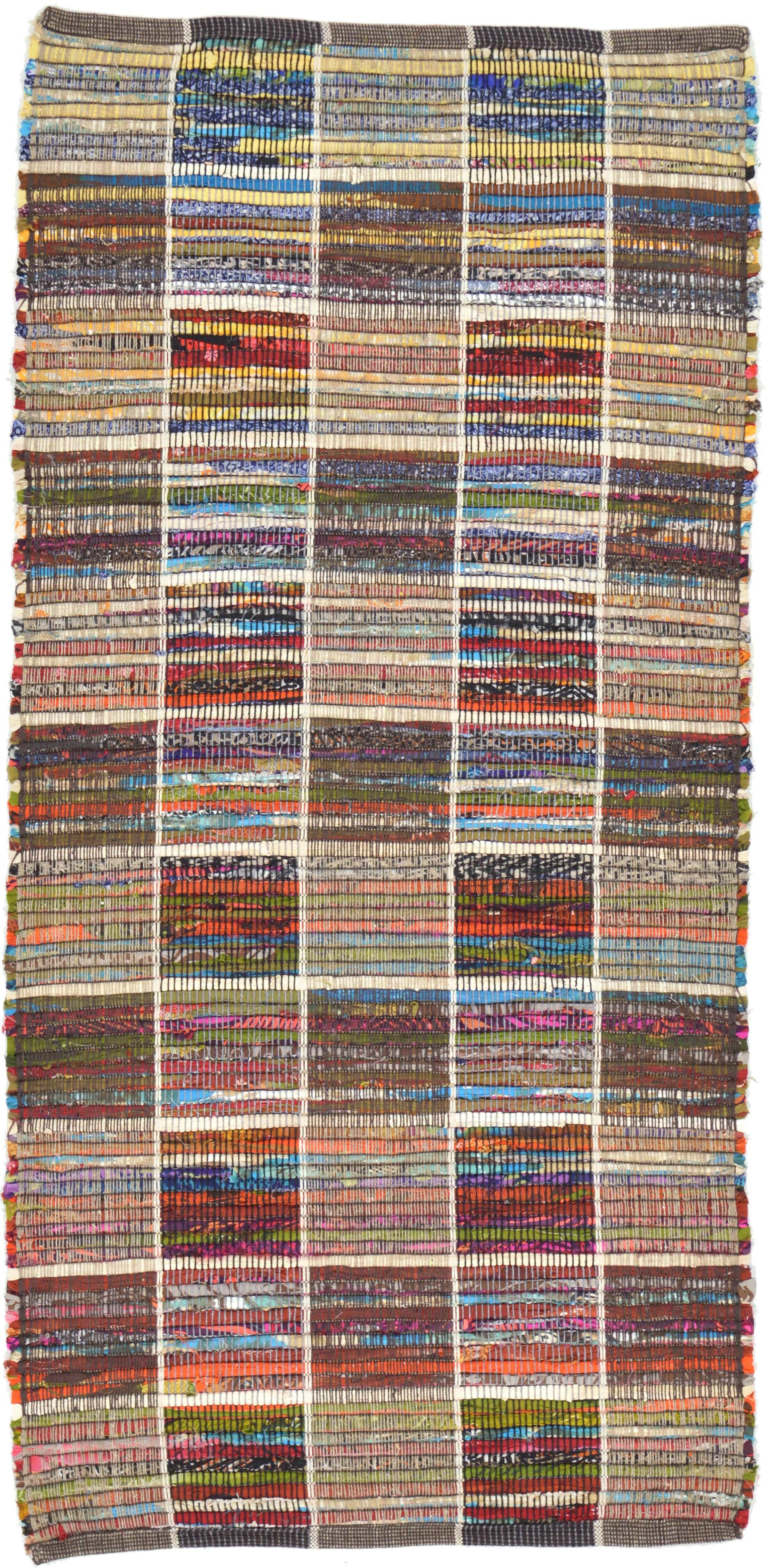 One-of-a-Kind Norberto Hand-Knotted 2'4