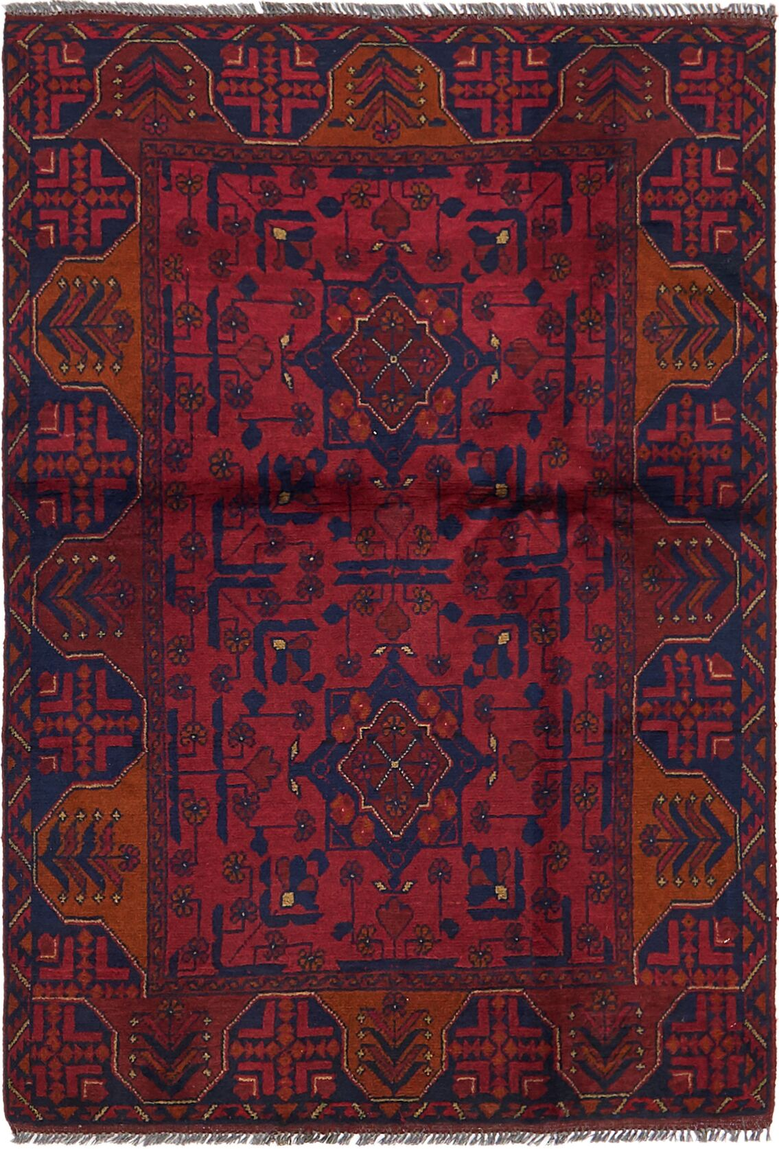 One-of-a-Kind Auxvasse Hand-Knotted 3'2