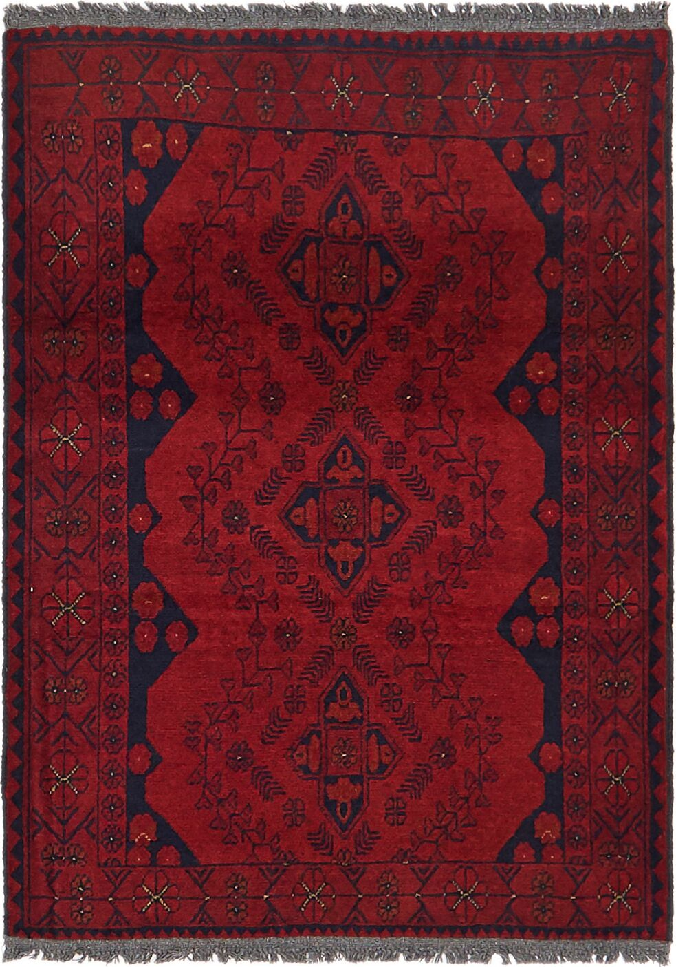 One-of-a-Kind Auxvasse Hand-Knotted 2'10