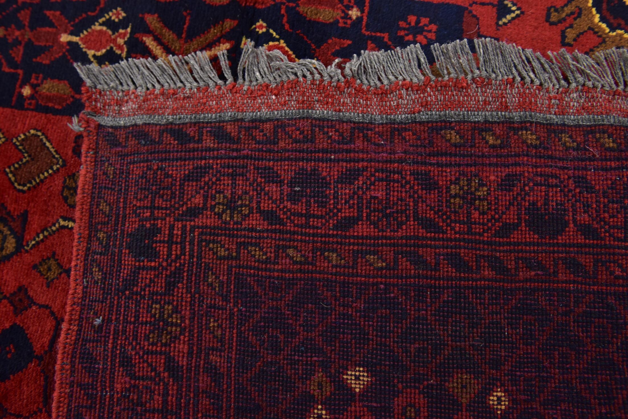 One-of-a-Kind Auxvasse Hand-Knotted 3'5
