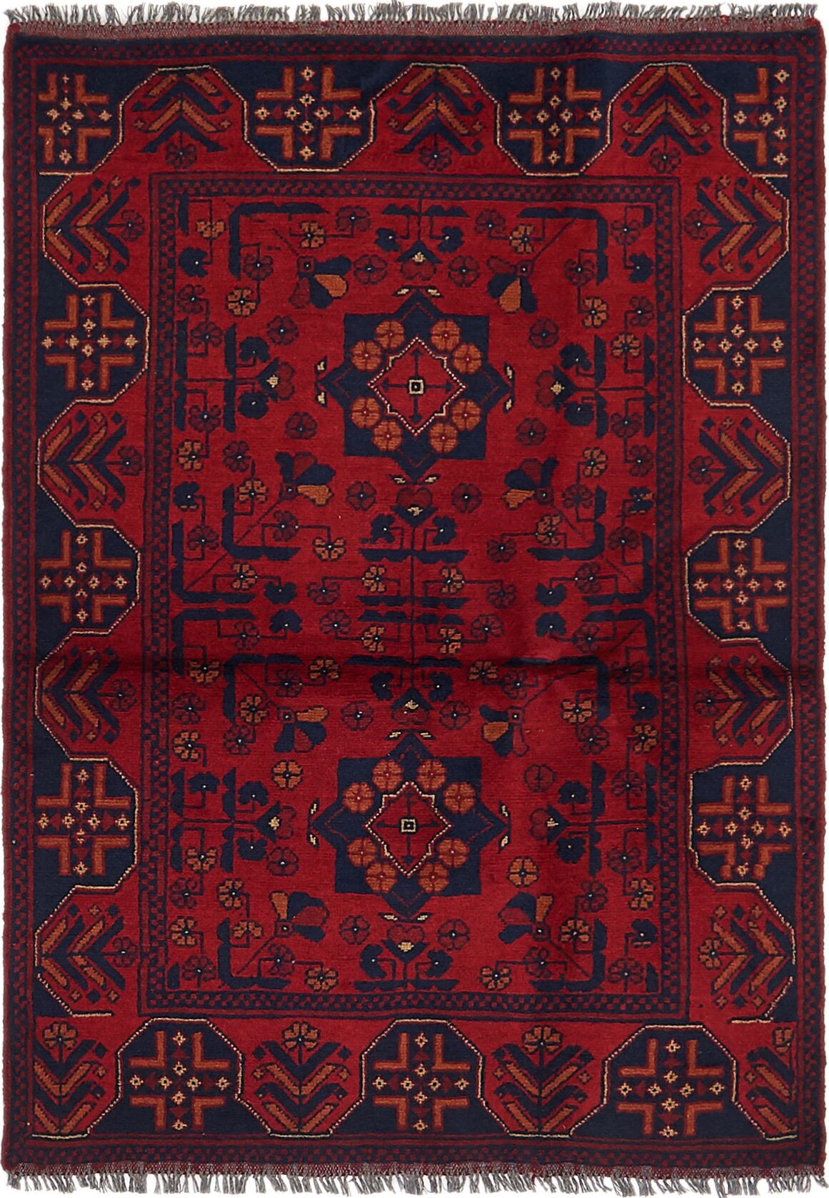 One-of-a-Kind Auxvasse Hand-Knotted 3'3
