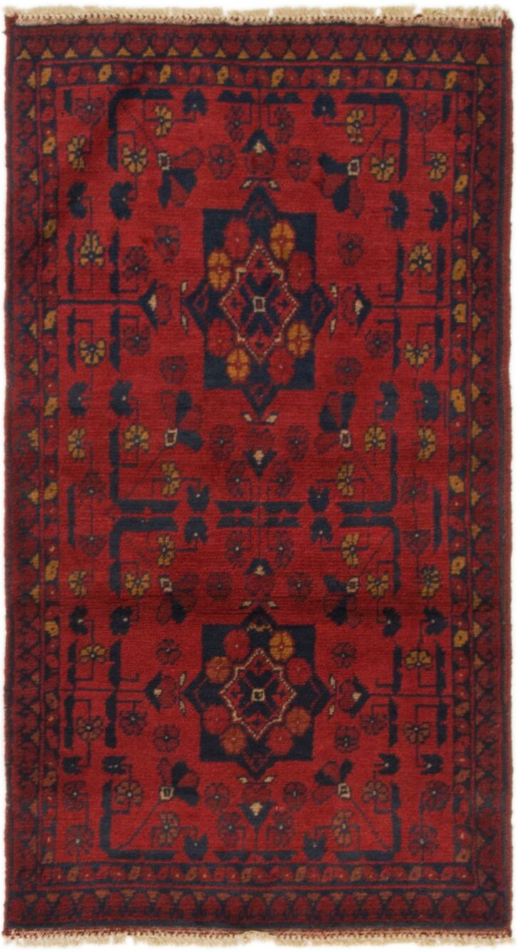 One-of-a-Kind Auxvasse Hand-Knotted 1'10
