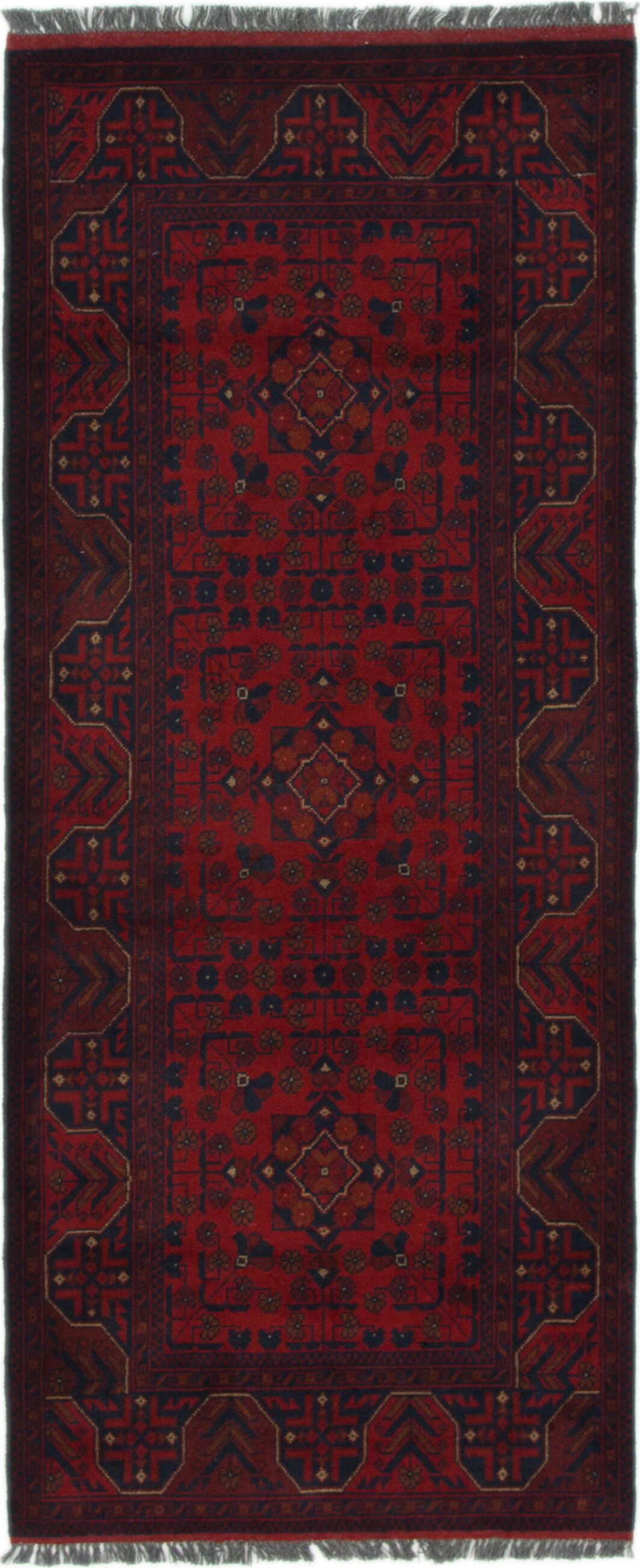 One-of-a-Kind Auxvasse Hand-Knotted 2'9
