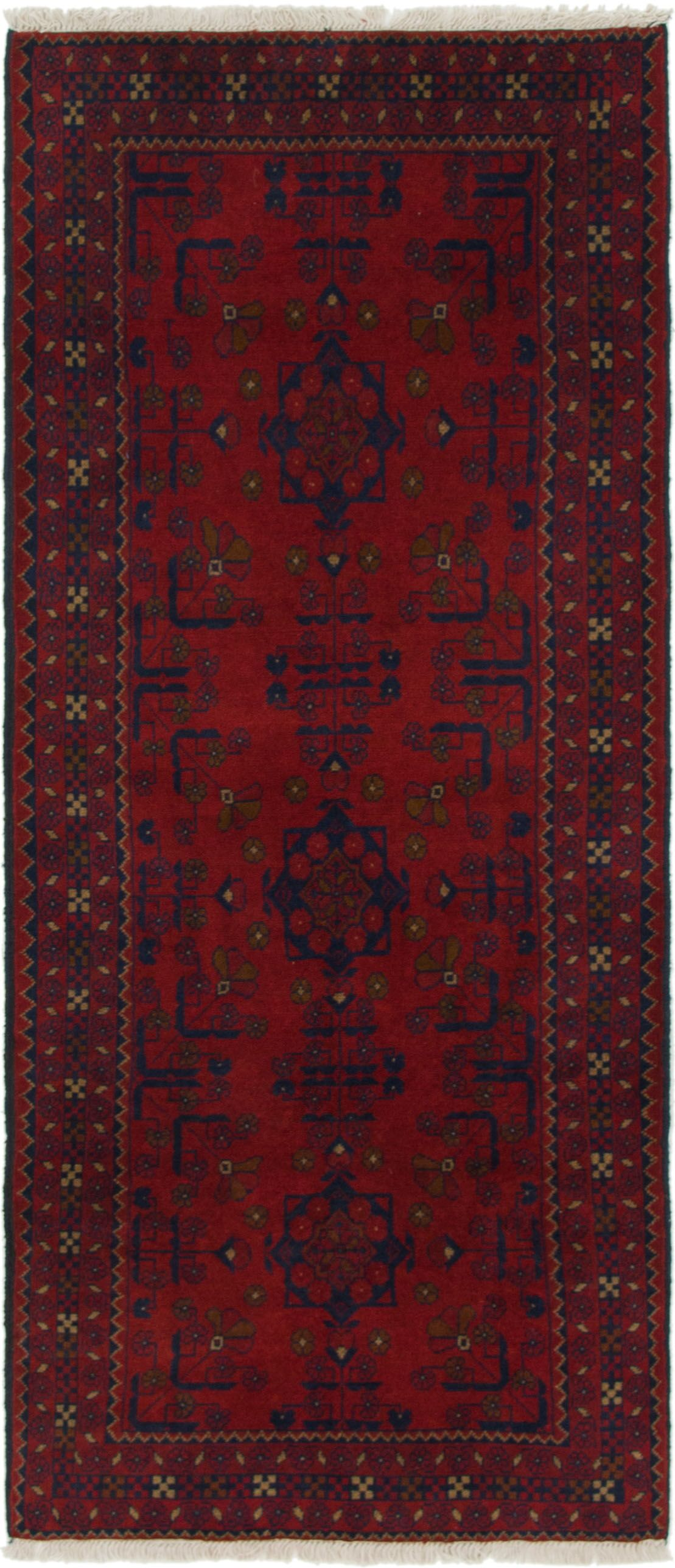 One-of-a-Kind Auxvasse Hand-Knotted 2'8