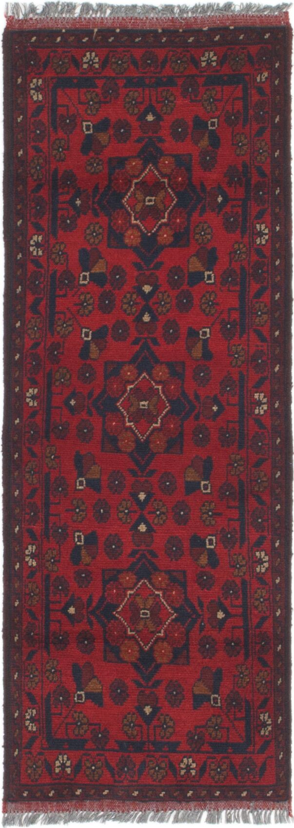 One-of-a-Kind Auxvasse Hand-Knotted 1'8