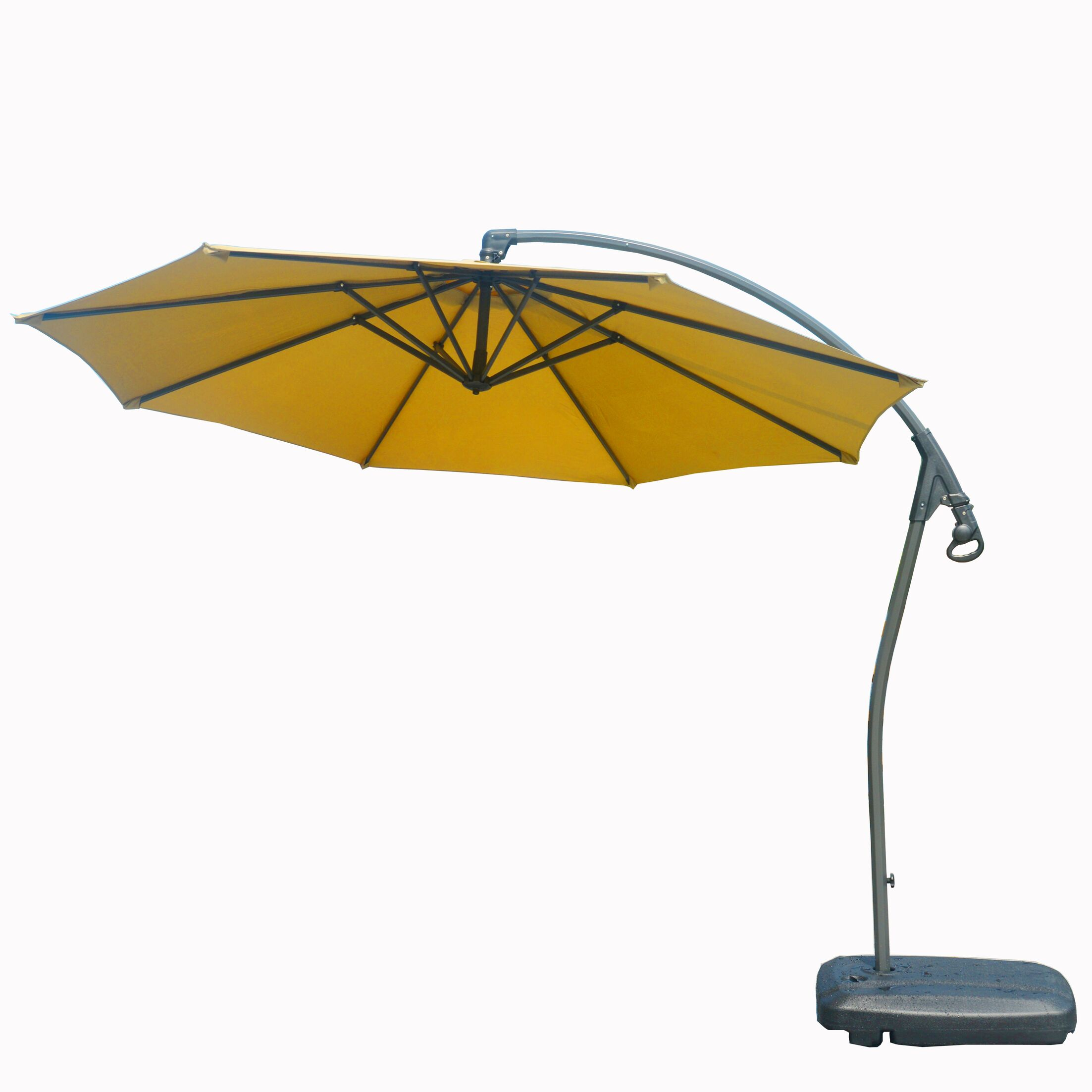 Hemmer 10' Cantilever Umbrella Fabric Color: Beige
