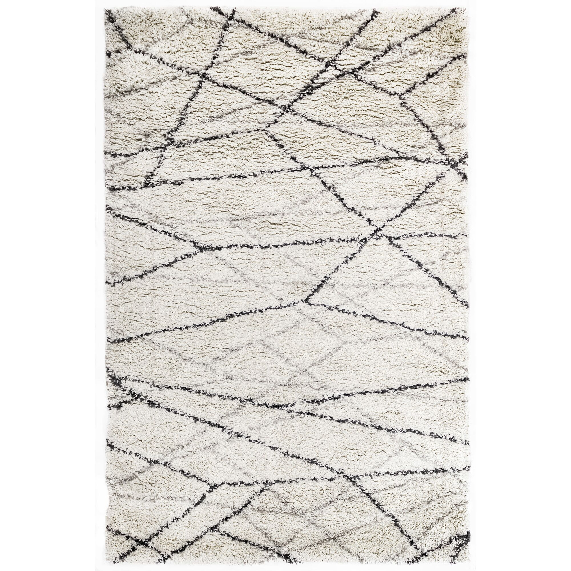 Bonham Beige Area Rug Size: Rectangle 4'10