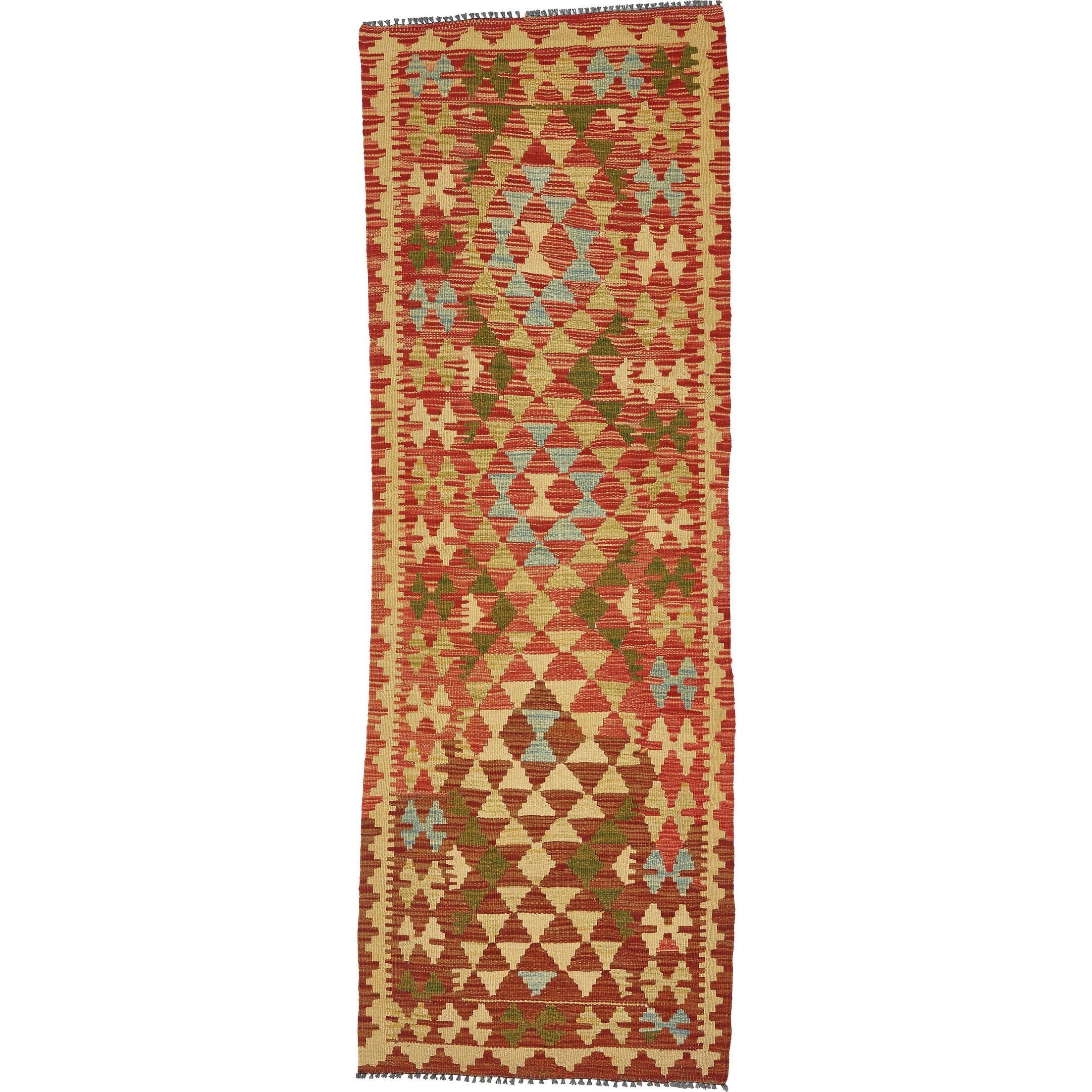 One-of-a-Kind Doorfield Hand-Knotted Wool  2'3