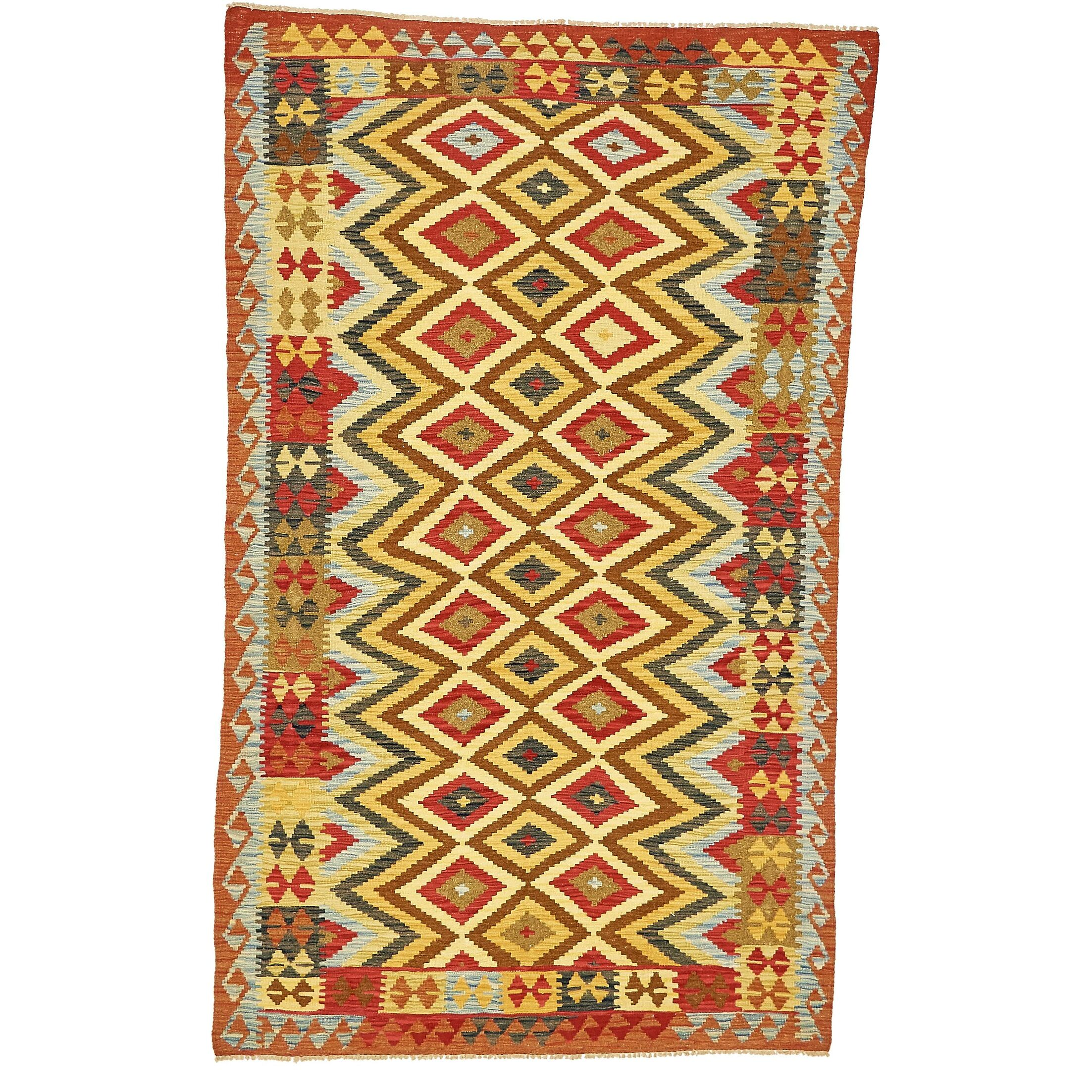 One-of-a-Kind Doorfield Hand-Knotted Wool 5' x 7'10