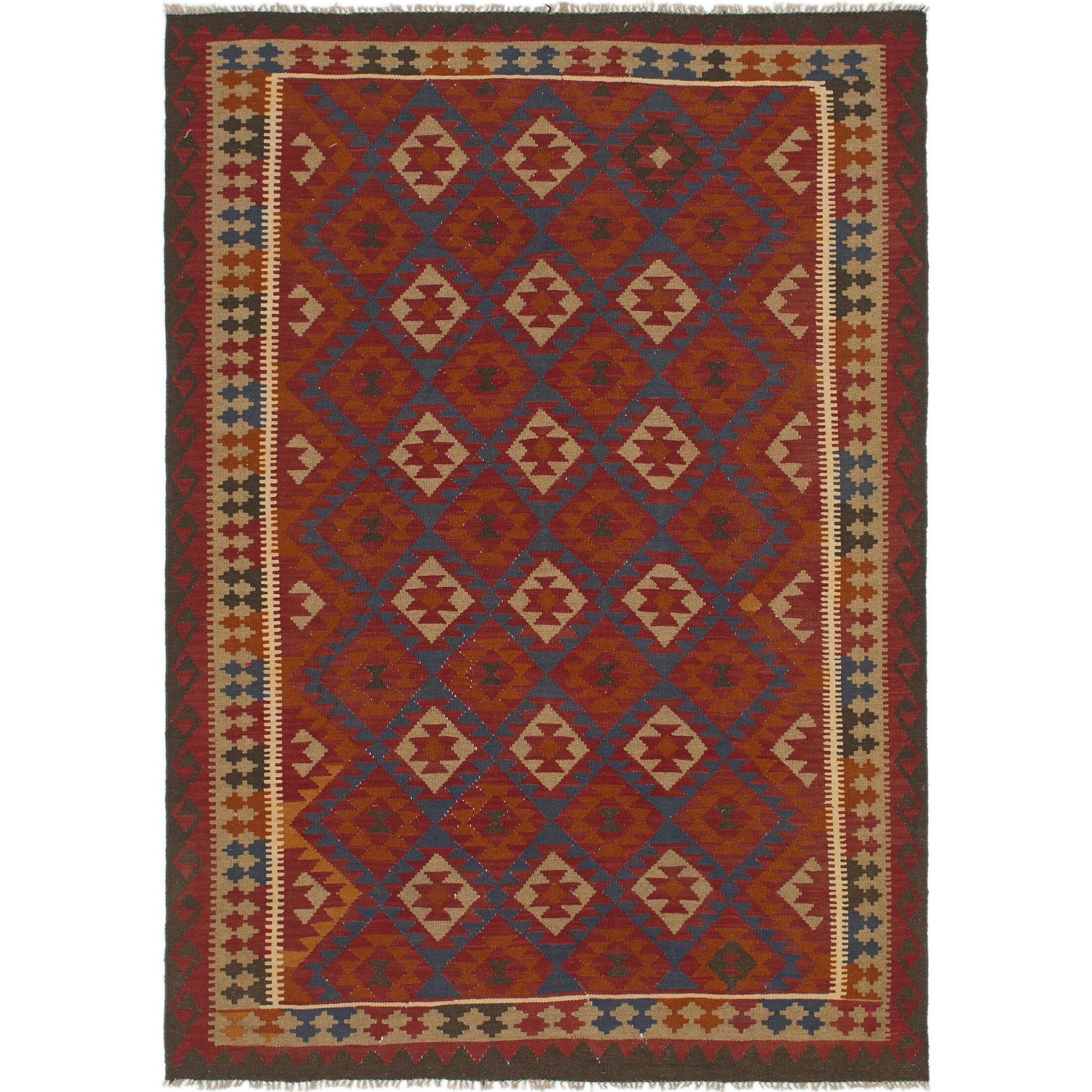 One-of-a-Kind Lorain Hand-Knotted Wool 7' x 9'10