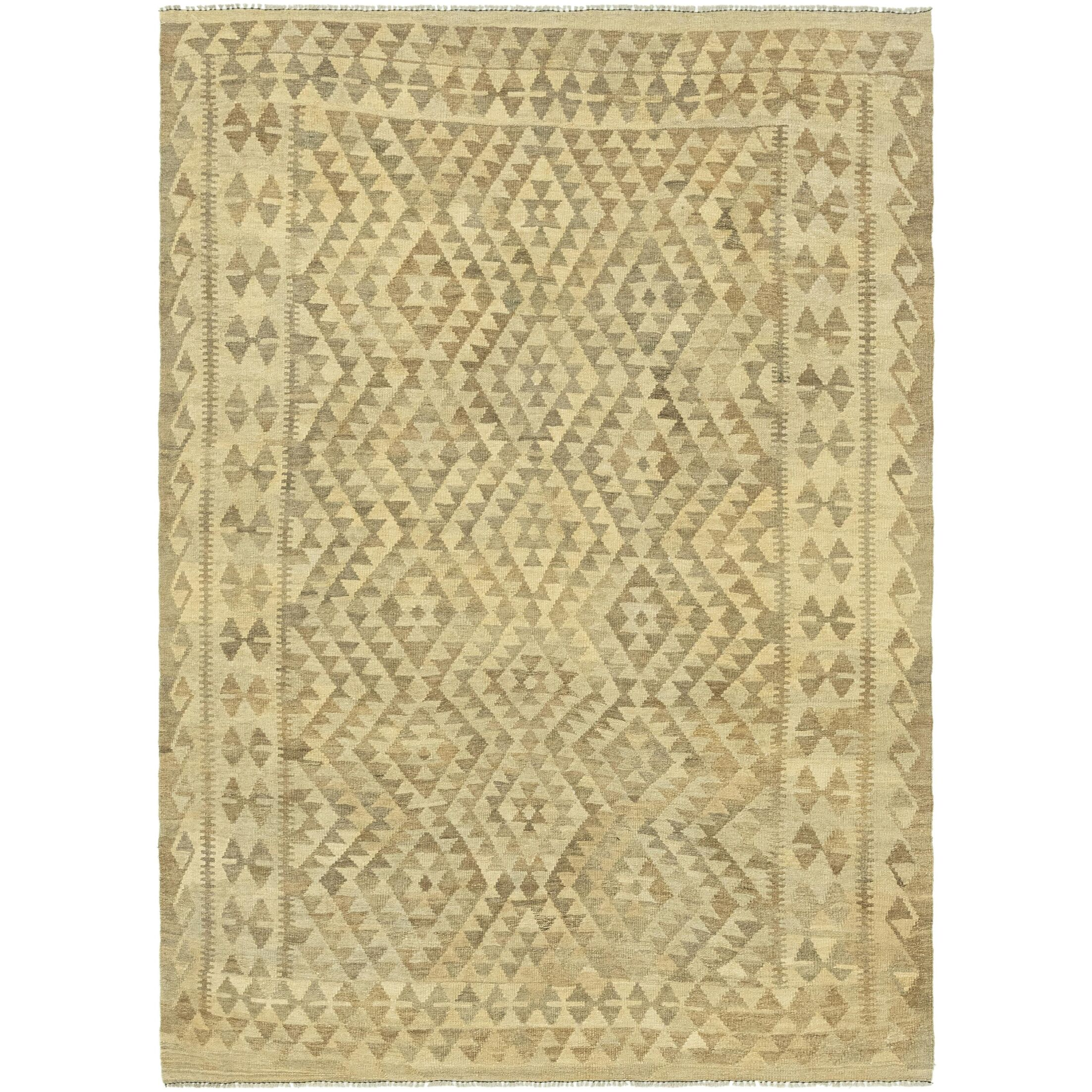 One-of-a-Kind Lorain Hand-Knotted Wool 5'8
