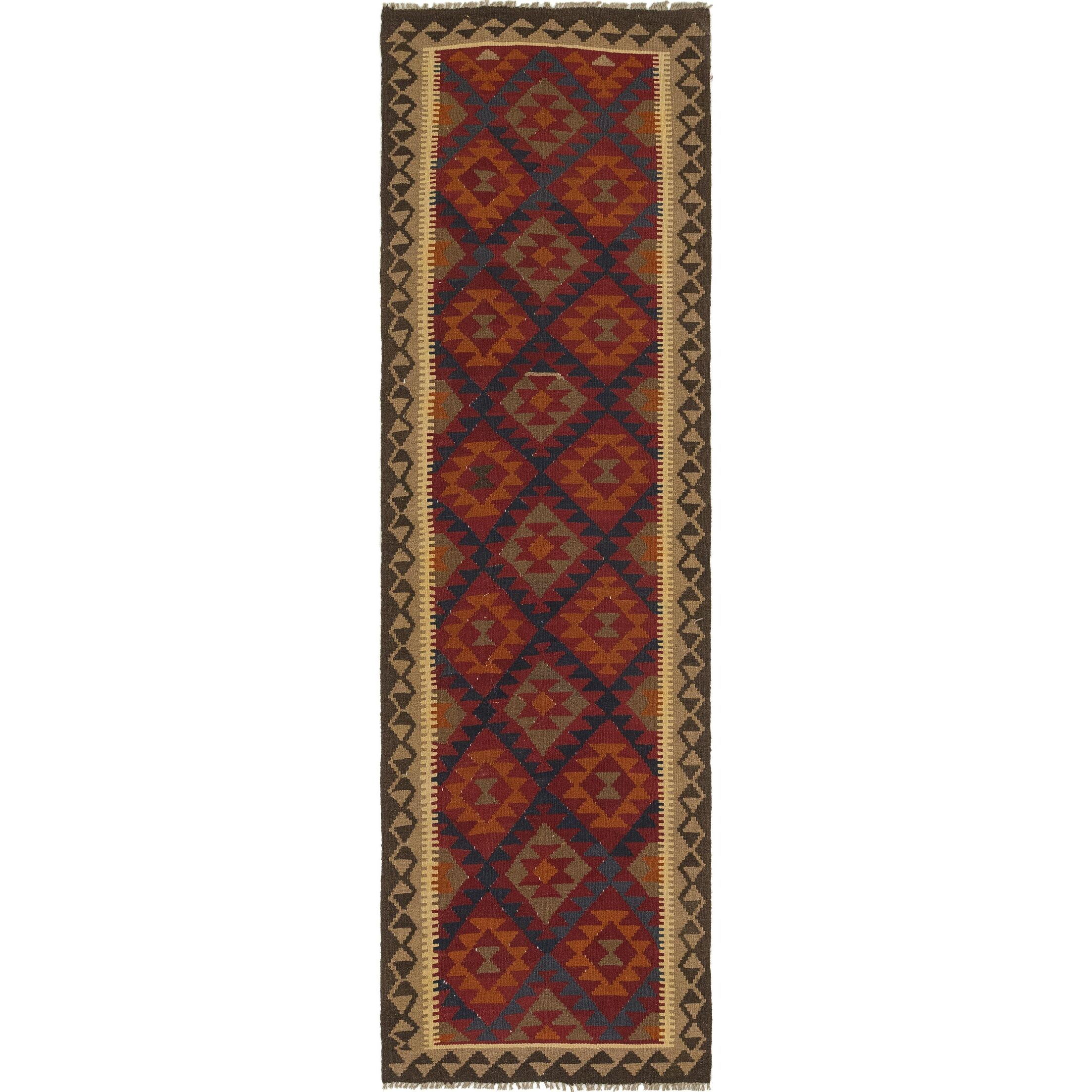 One-of-a-Kind Lorain Hand-Knotted Runner 2'10