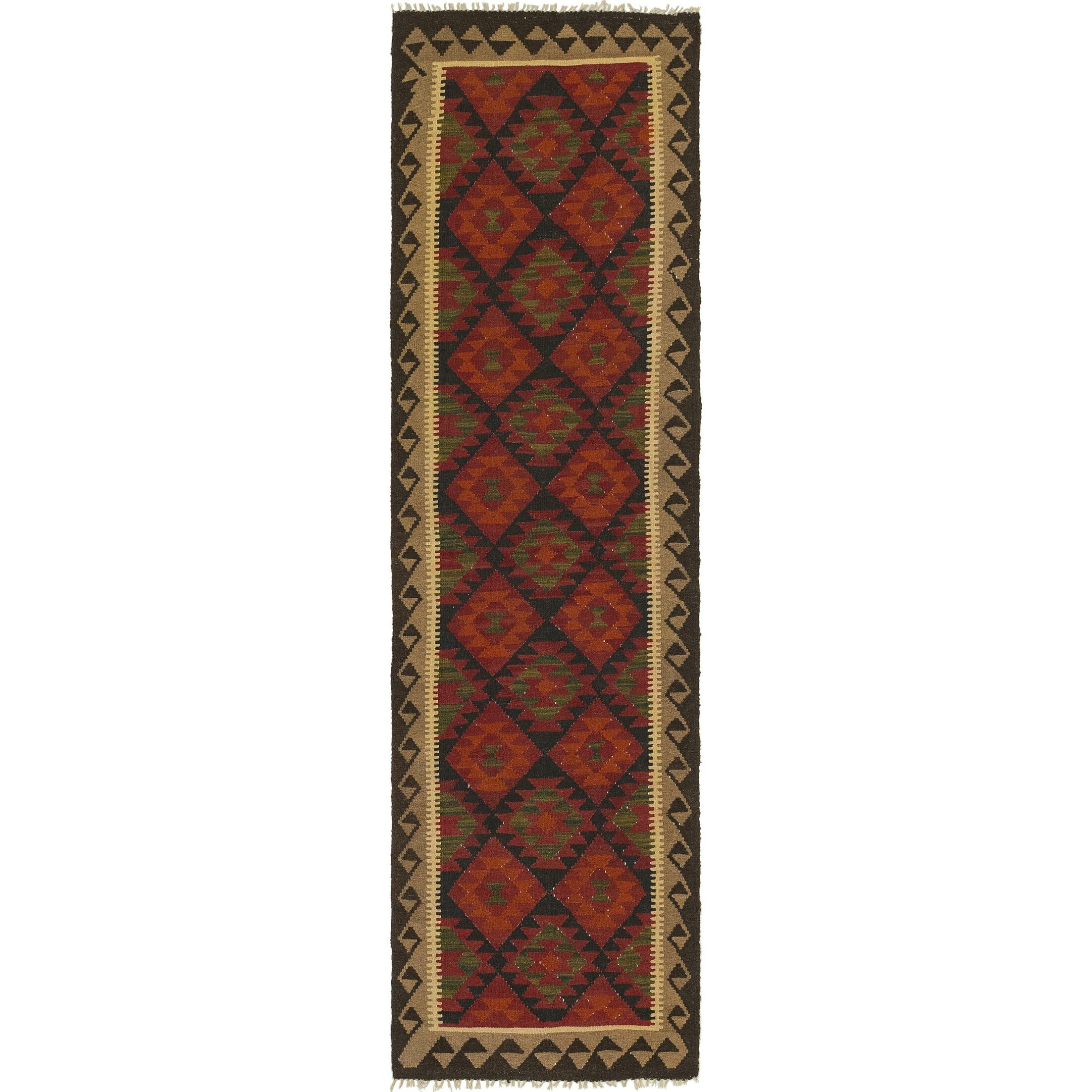 One-of-a-Kind Lorain Hand-Knotted Runner 2'8