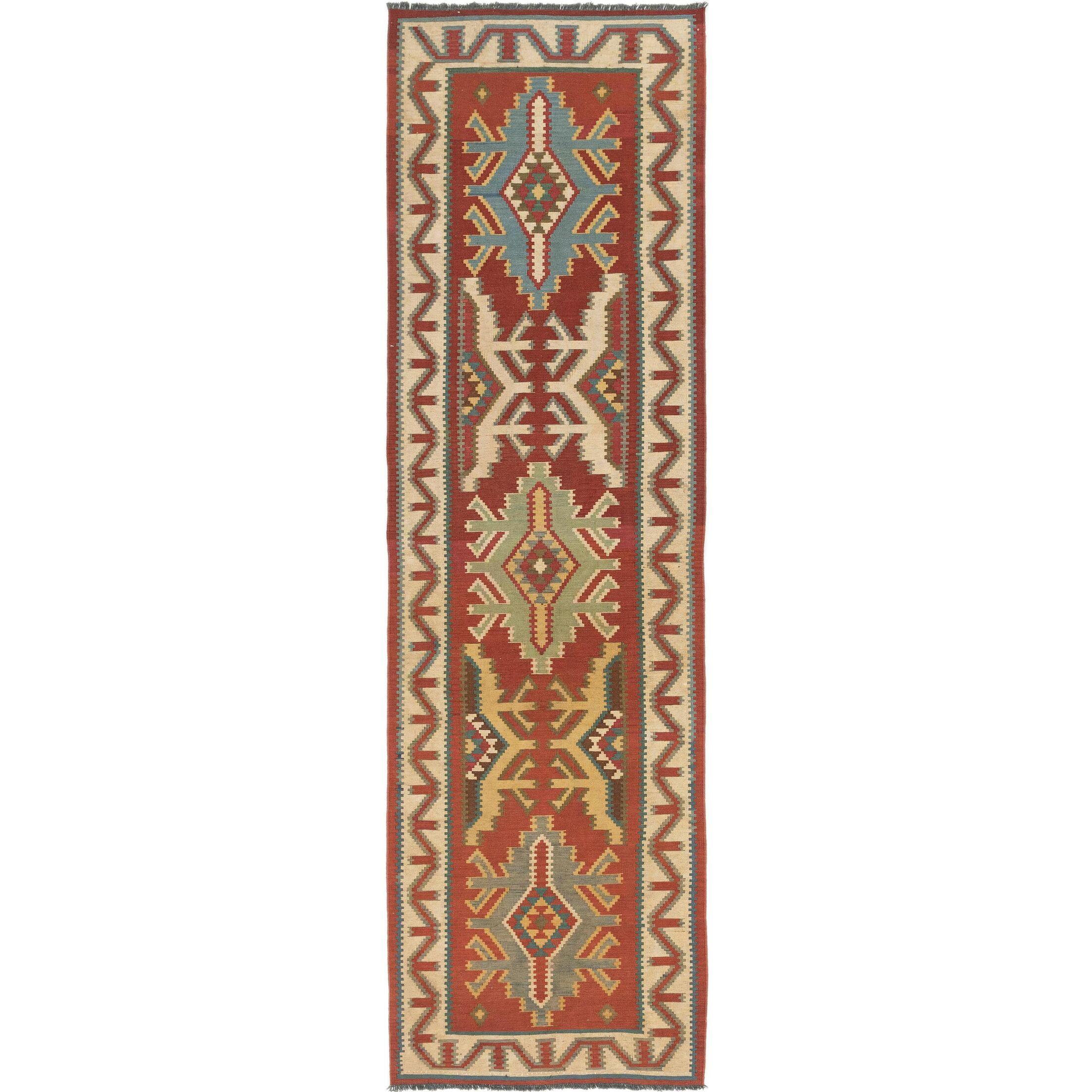 One-of-a-Kind Lorain Hand-Knotted Runner 3'3