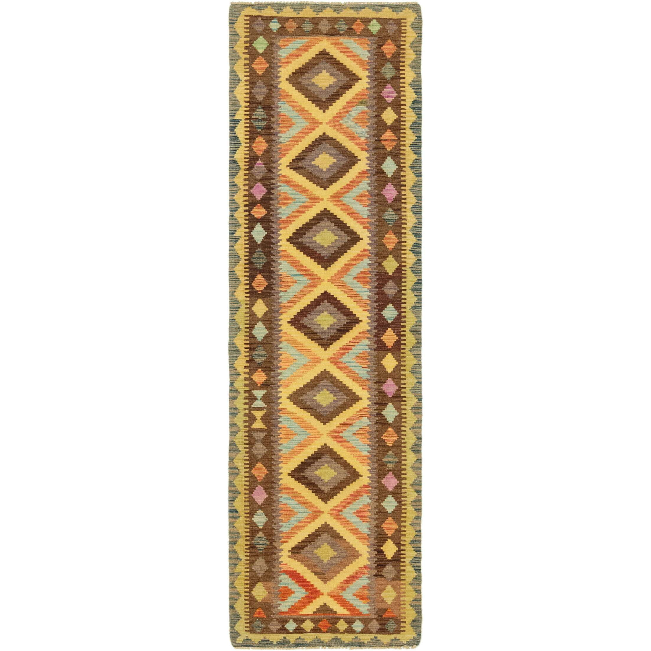 One-of-a-Kind Lorain Hand-Knotted Runner 2'6
