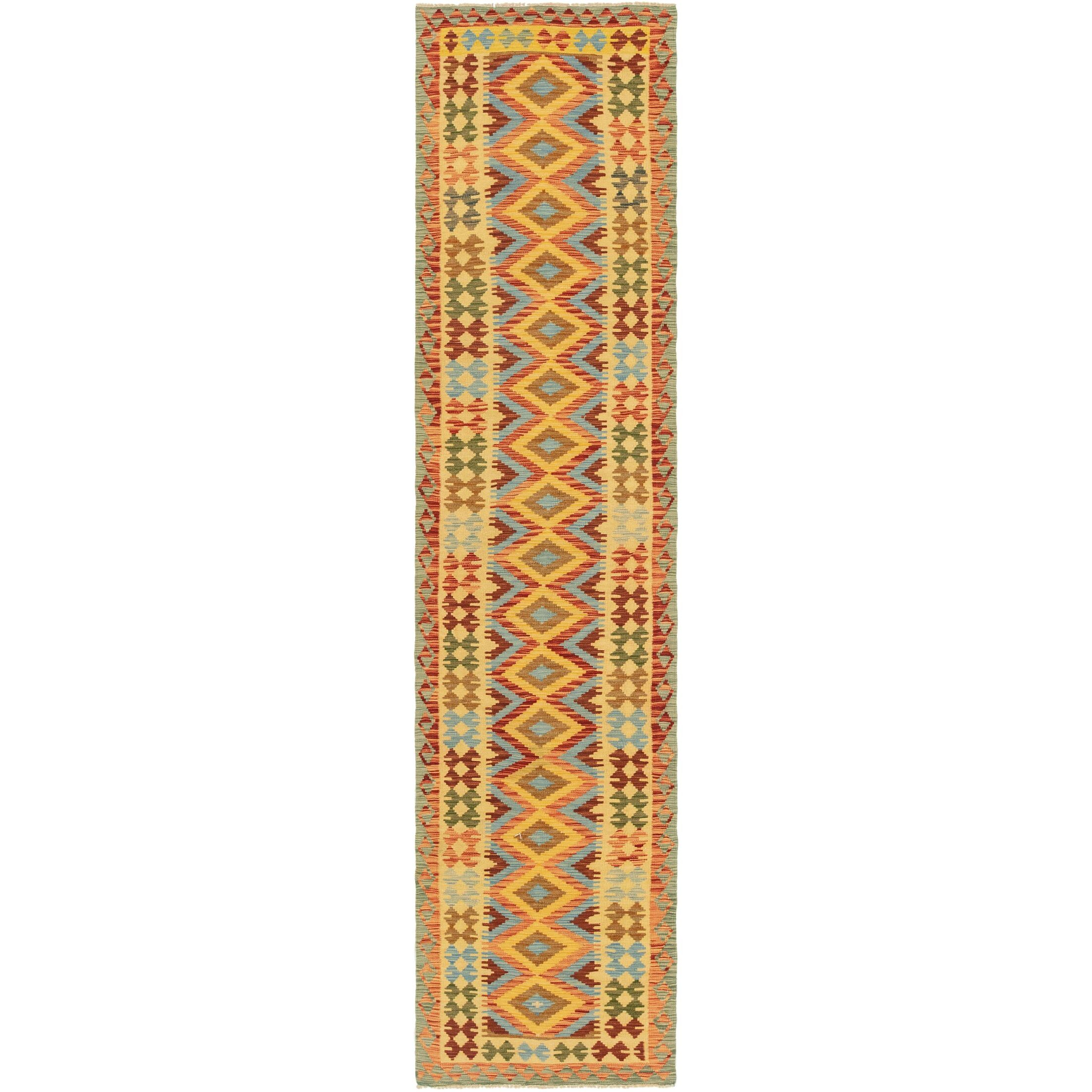 One-of-a-Kind Lorain Hand-Knotted Runner 2'9