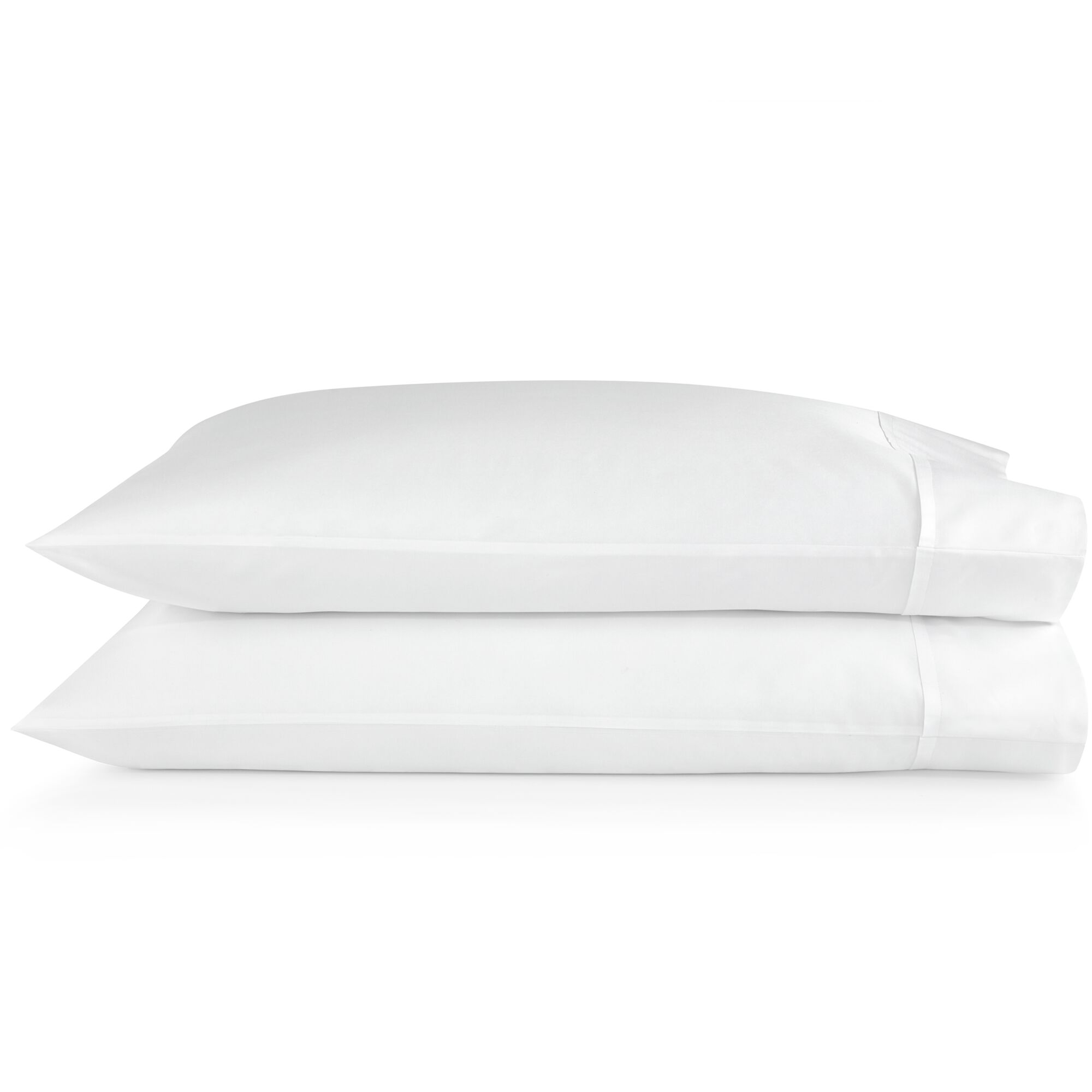 Supima Semplice Pillow Case Size: California King, Color: White