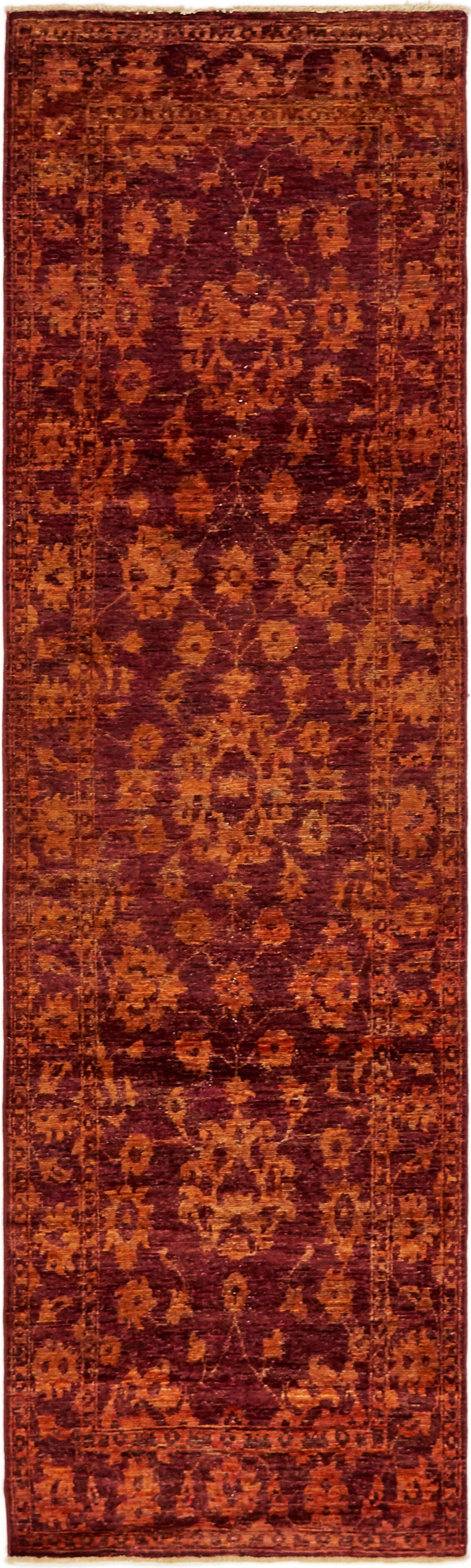 One-of-a-Kind Huntingdon Runner Hand-Knotted  2'9