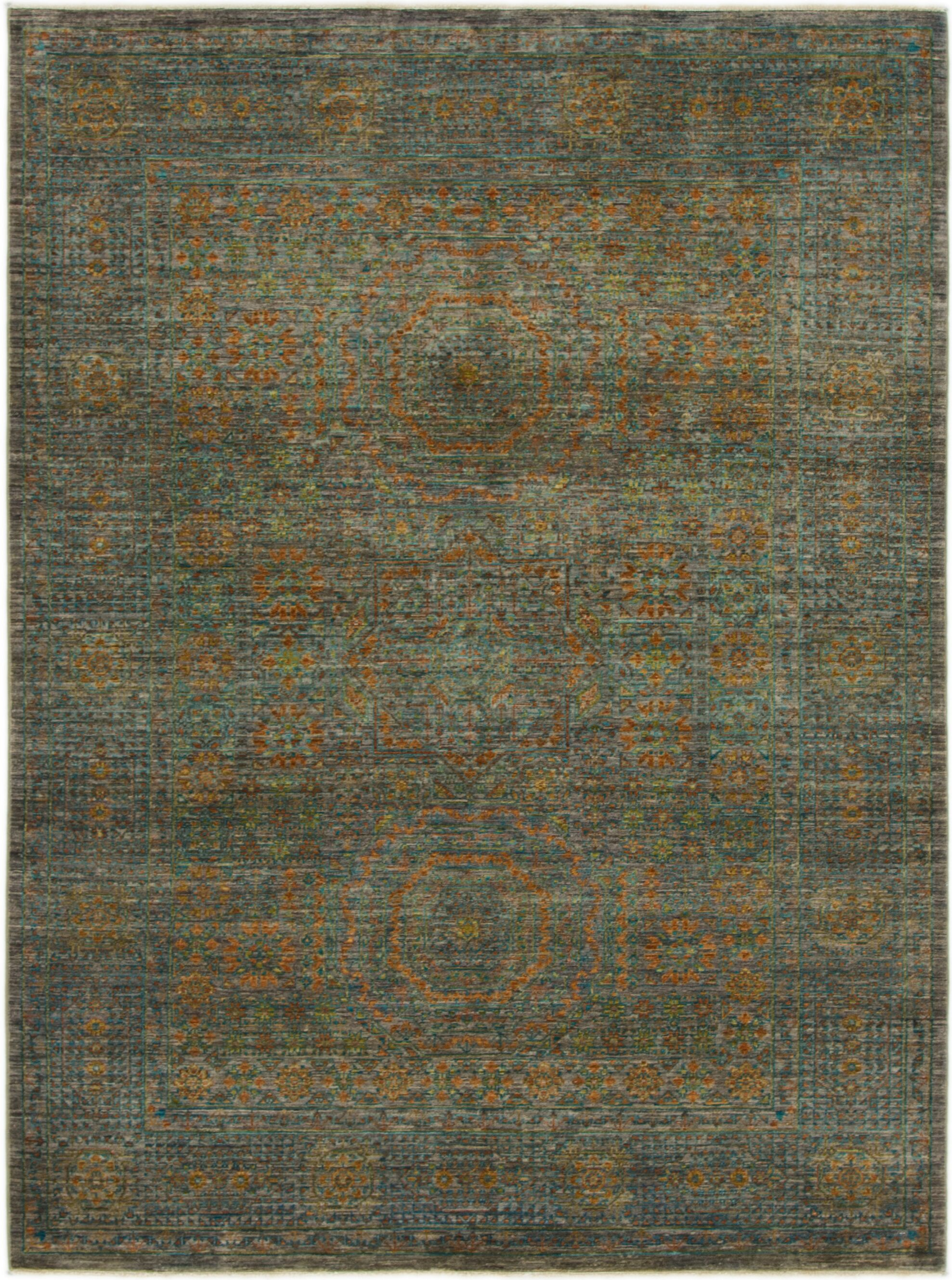 One-of-a-Kind Hungerford Hand-Knotted  5' x 6'9