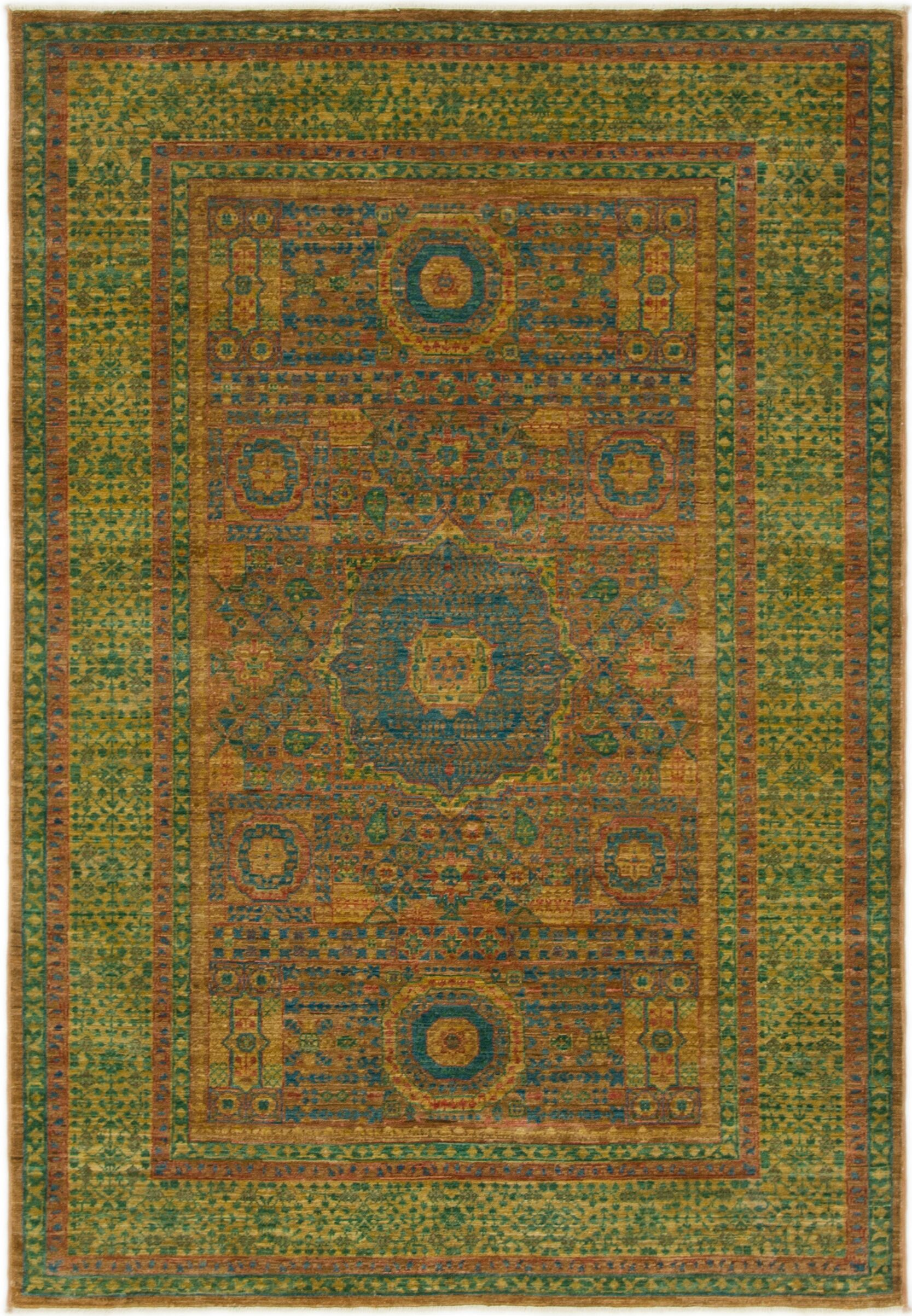 One-of-a-Kind Hungerford Hand-Knotted  4'2