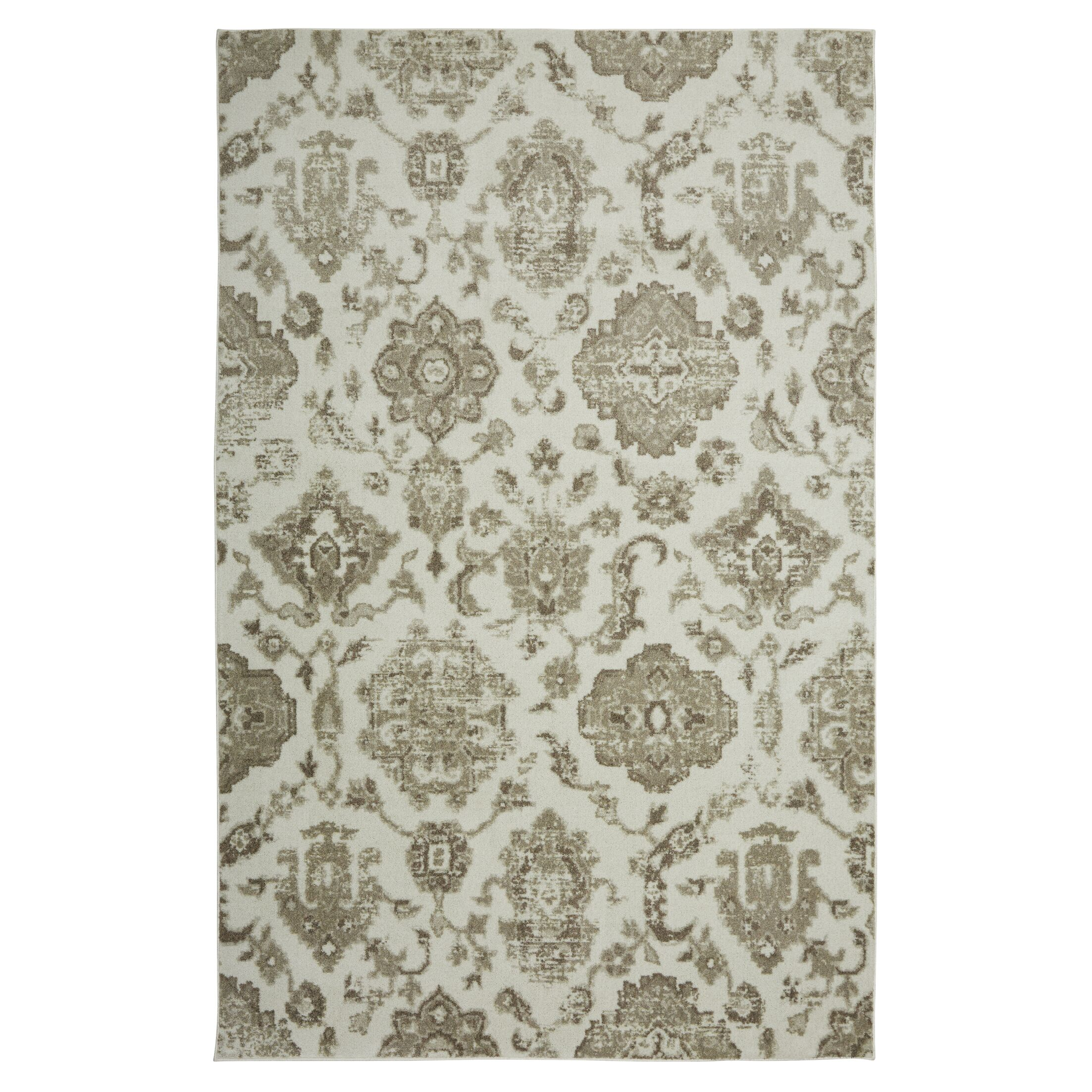 Mohawk Linen/Green/Beige Area Rug Rug Size: Rectangle 8' x 10'