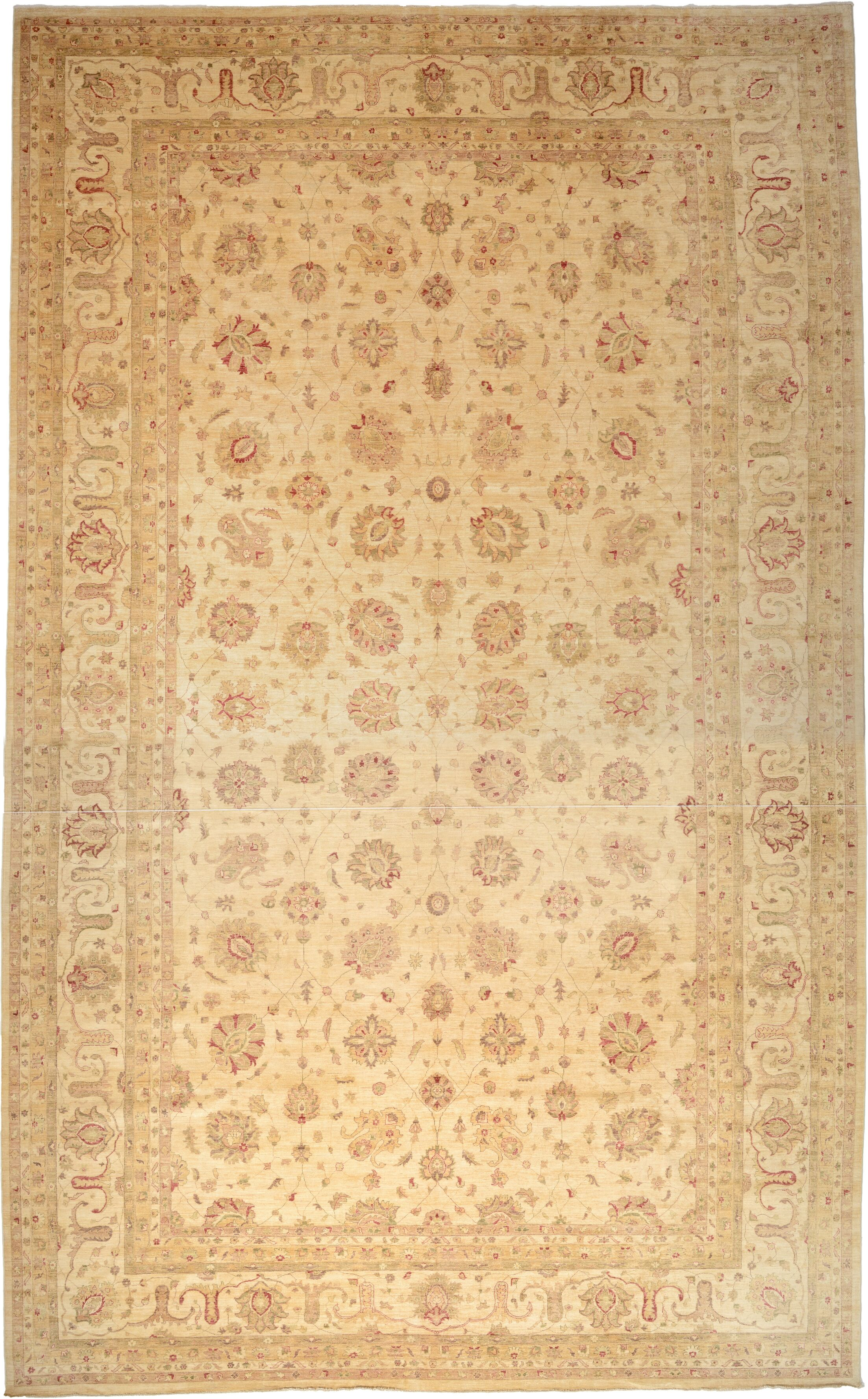 One-of-a-Kind Huntingdon Hand-Knotted  15'1